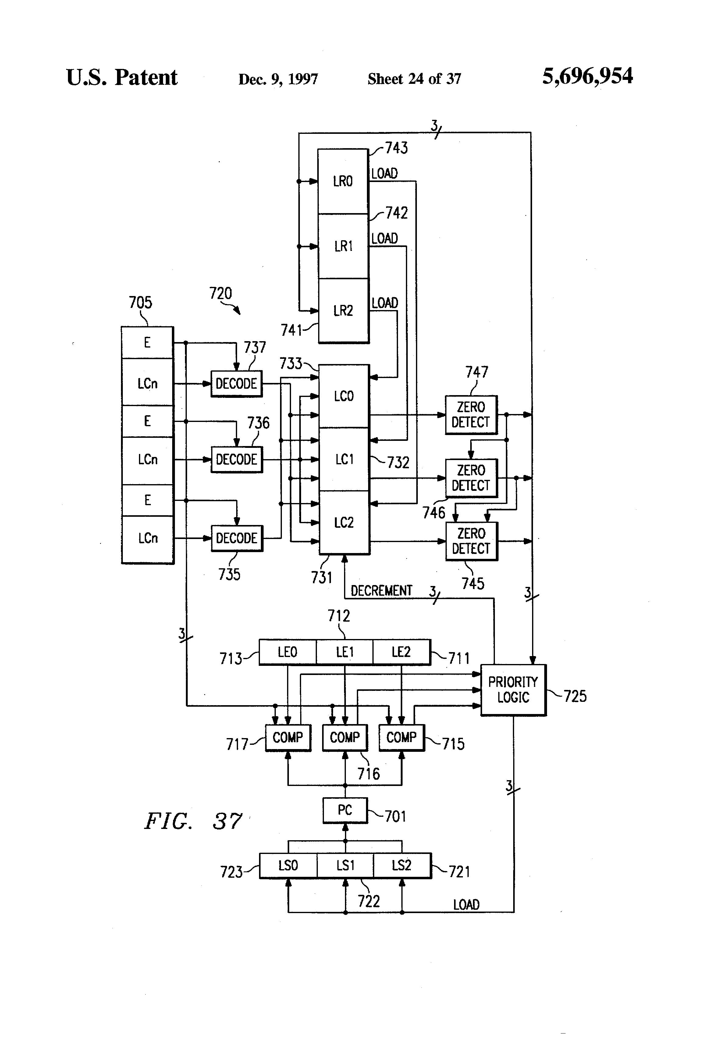 patent us5696954