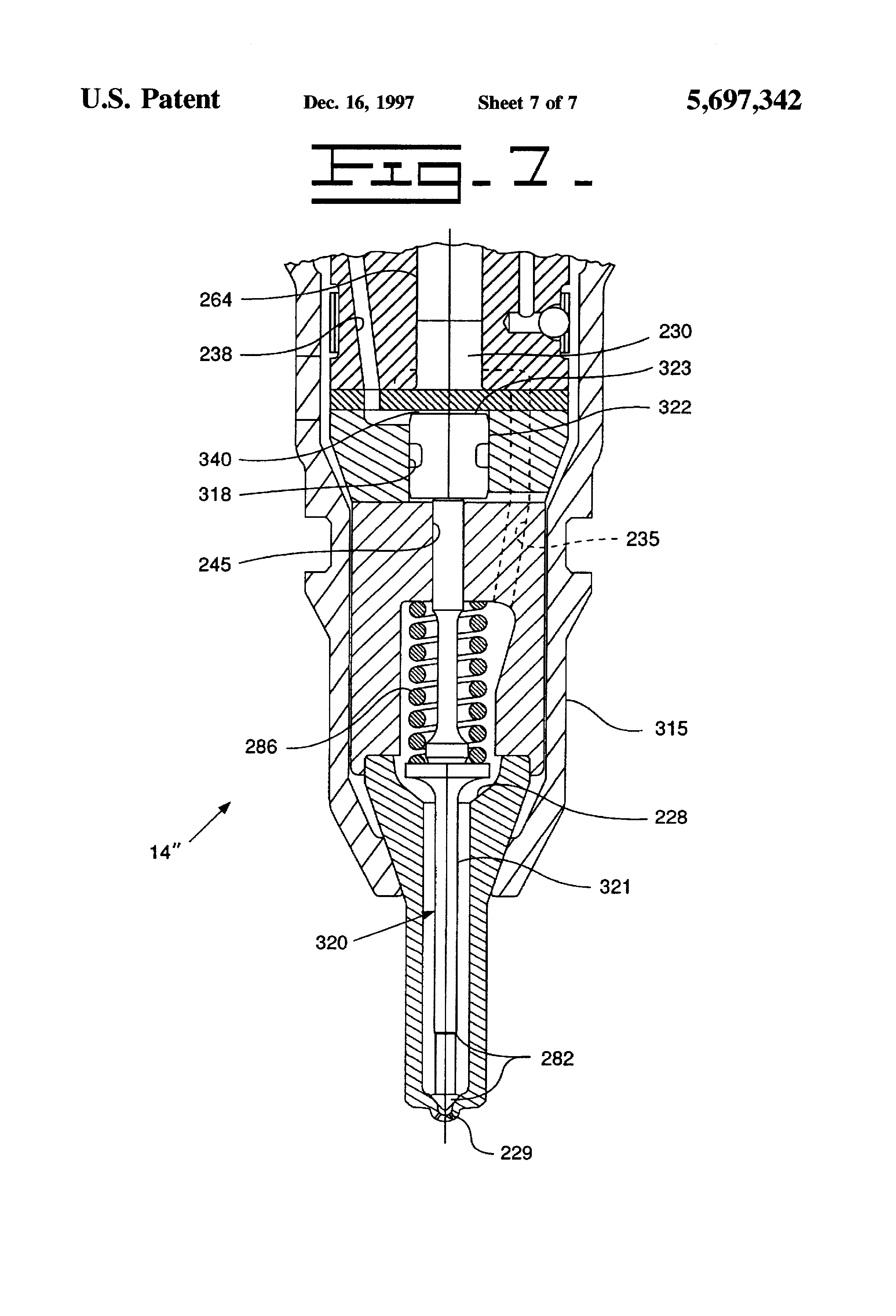 patent us5697342 hydraulically actuated fuel injector with 2000 cougar fuse  box diagram #62