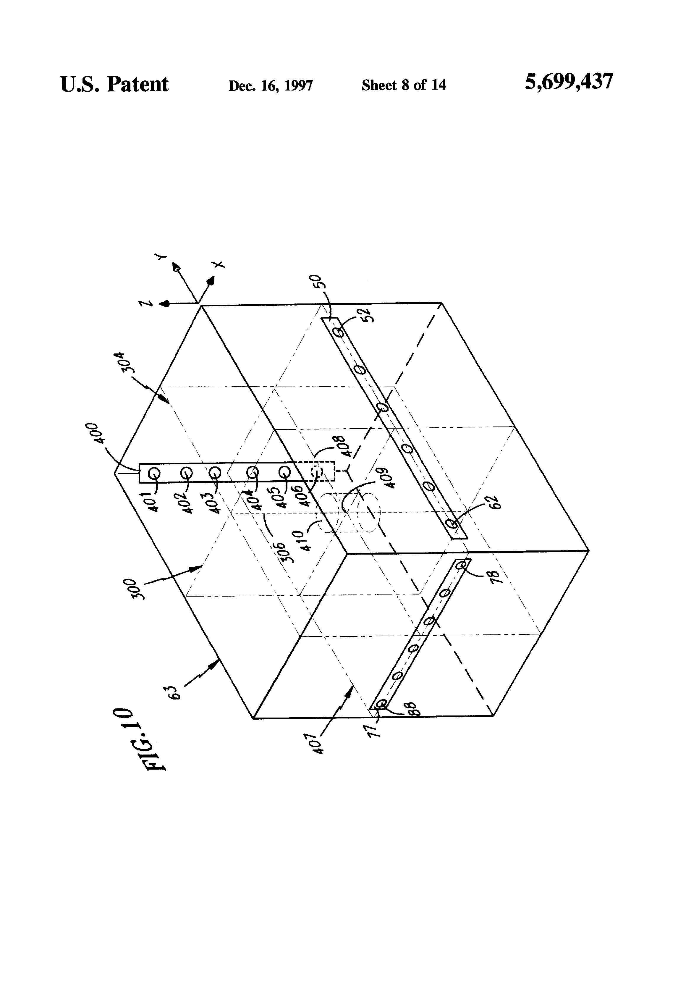patent us5699437