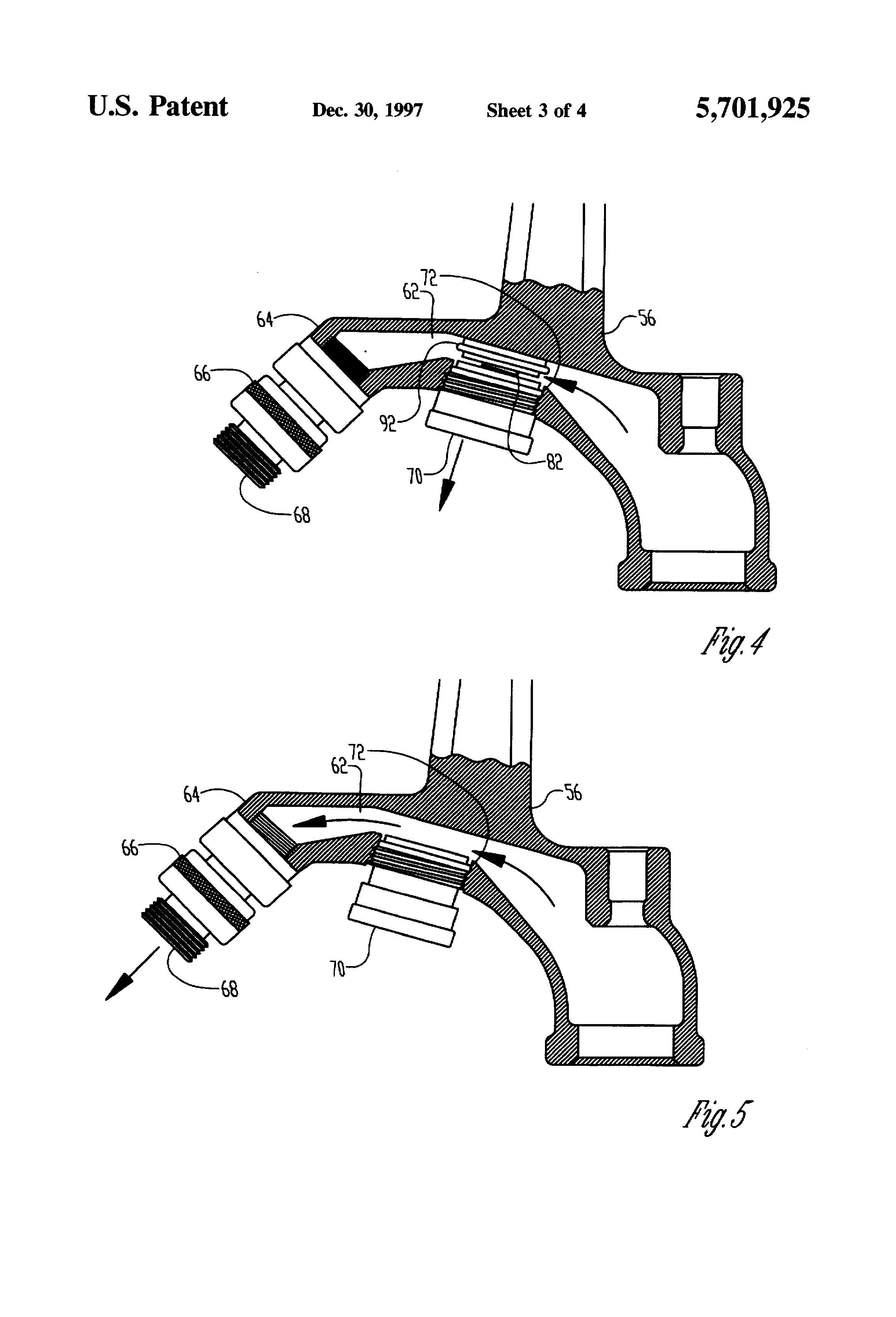 Patent Us5701925 Sanitary Yard Hydrant Google Patents