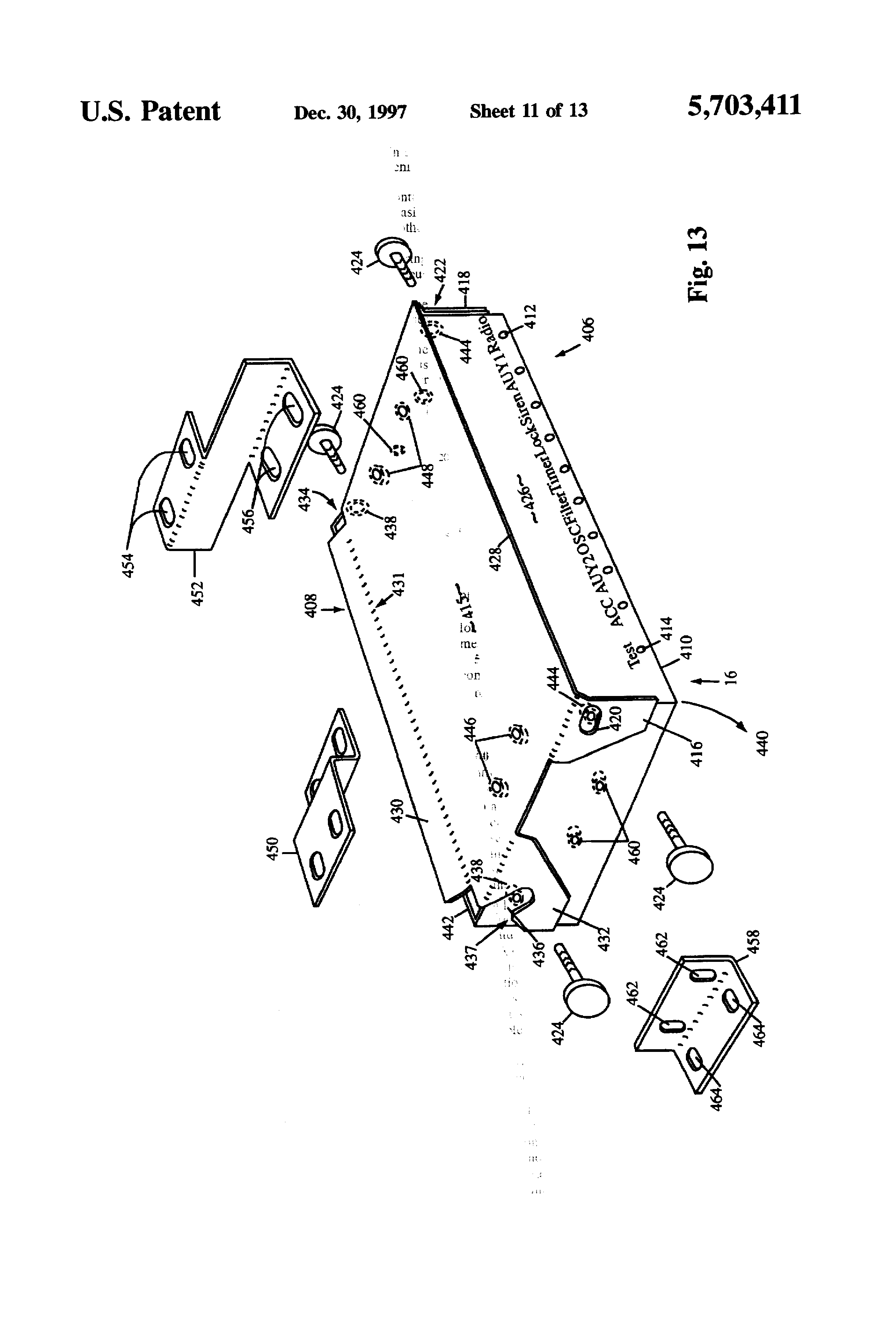 patent us5703411 re useable emergency vehicle wiring harness and patent drawing