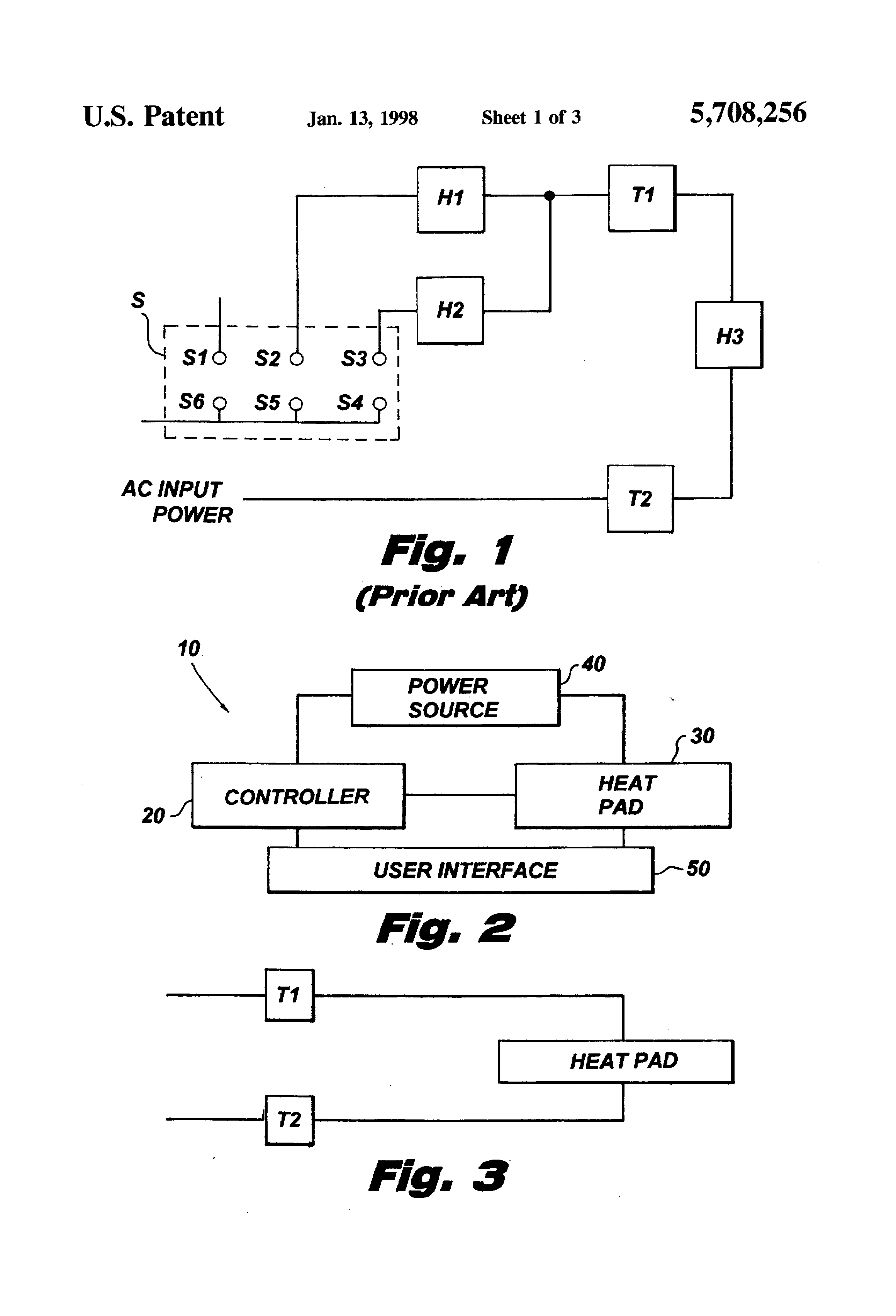 patent us heating pad controller variable duty cycle patent drawing