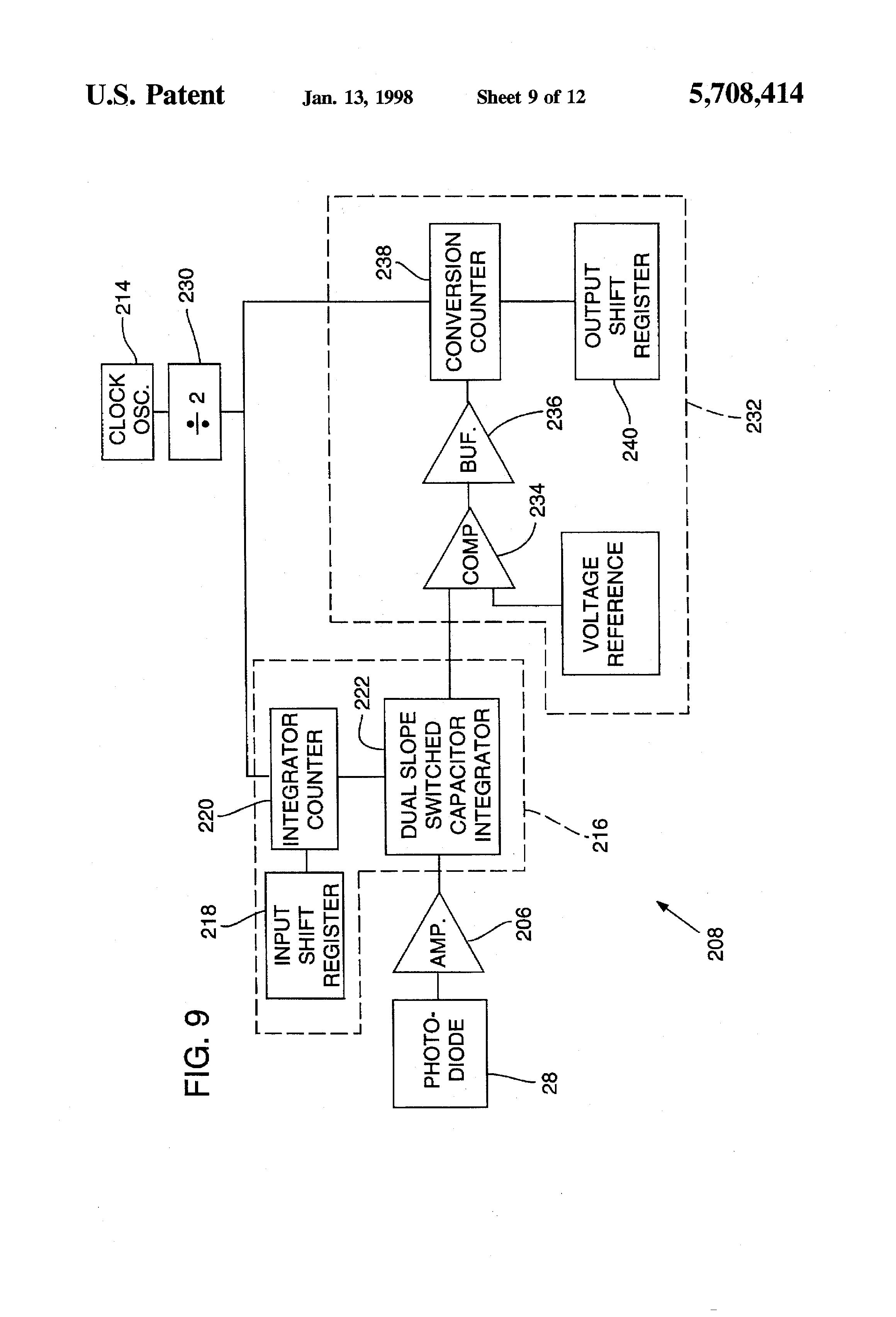 Patente Us5708414 Sensitivity Fault Indication Technique Gentex 511 Wiring Diagram Patent Drawing