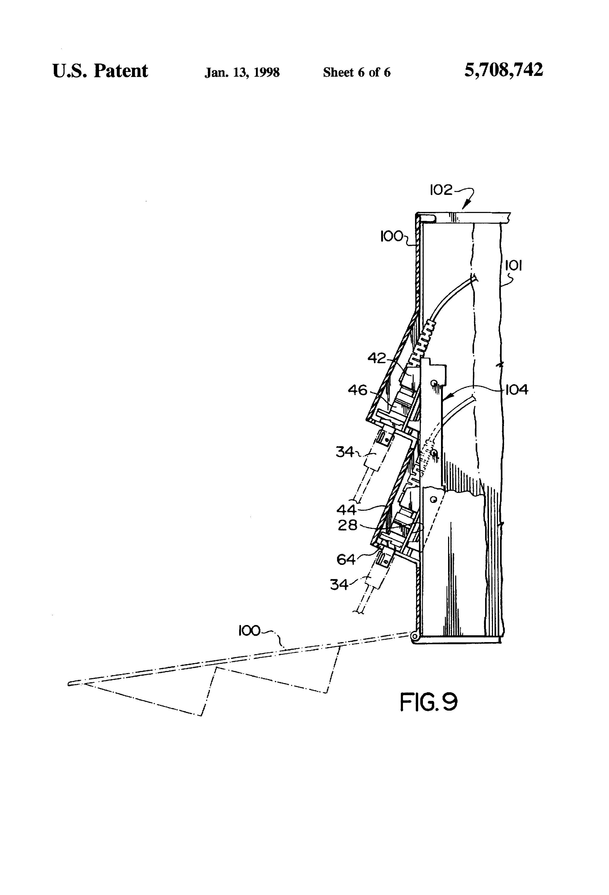 patent us5708742