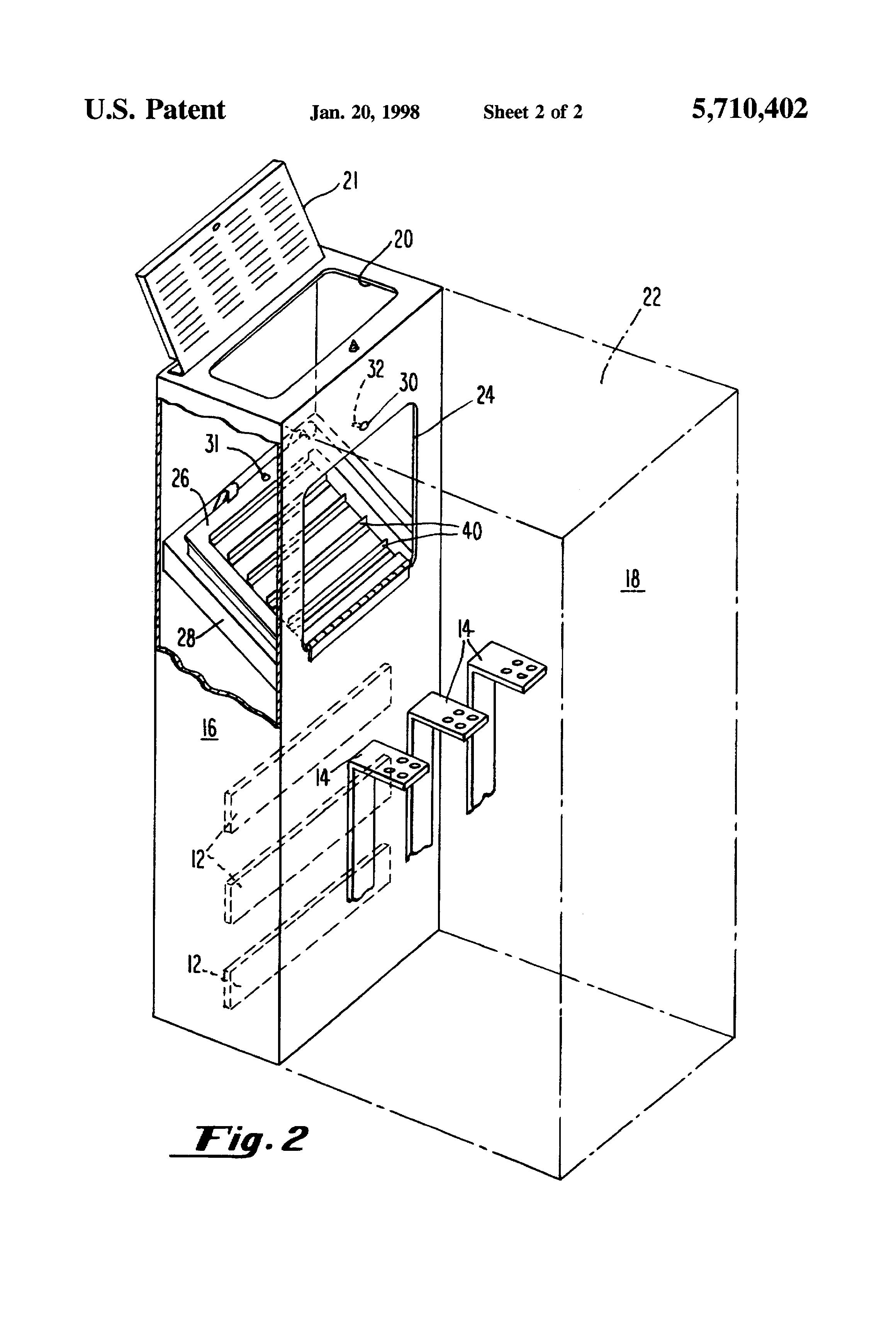 Patent Us5710402 Arc Resistant Switchgear Enclosure