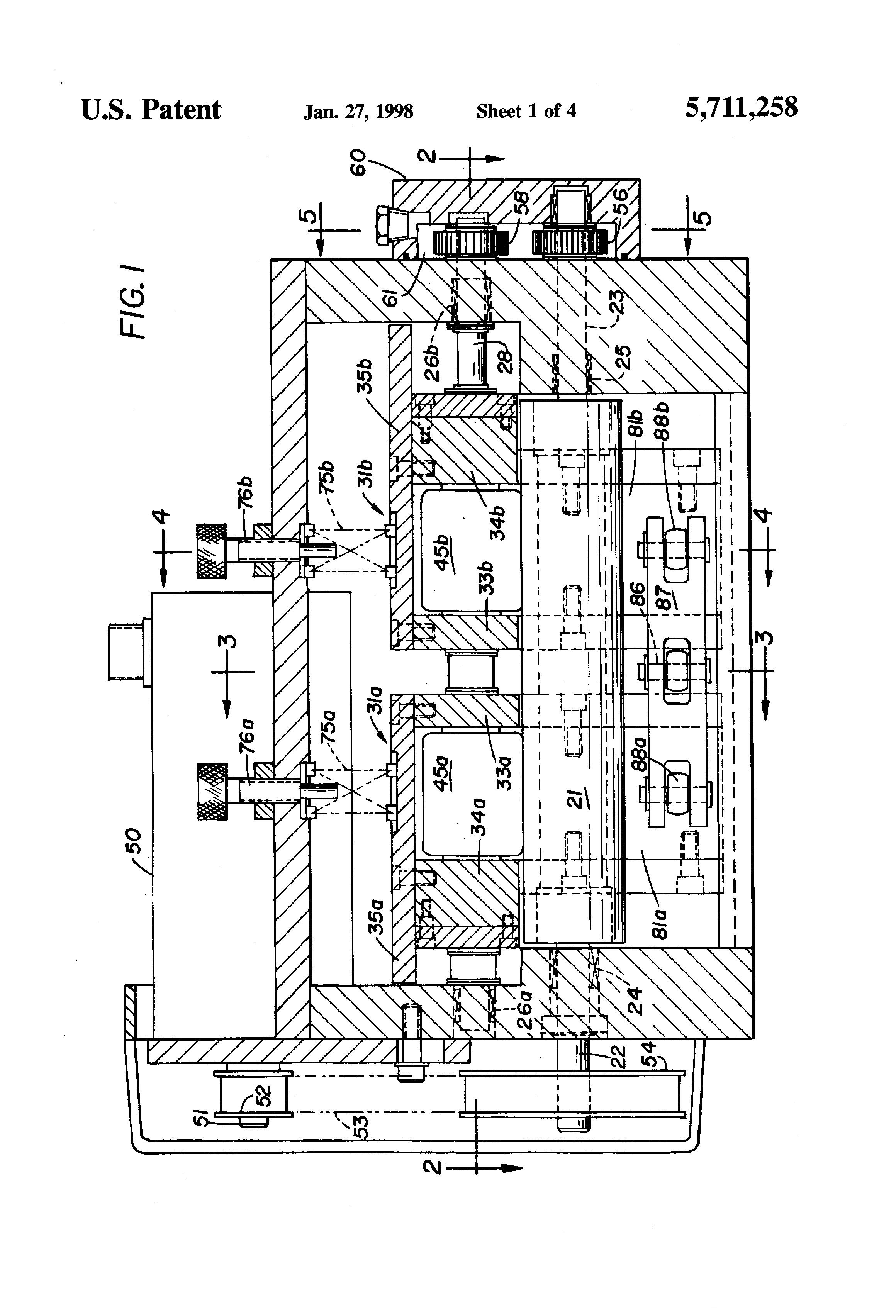 Us5711258 Cooling System For An Internal Combustion Engine Diagram 350 Patent Drawing