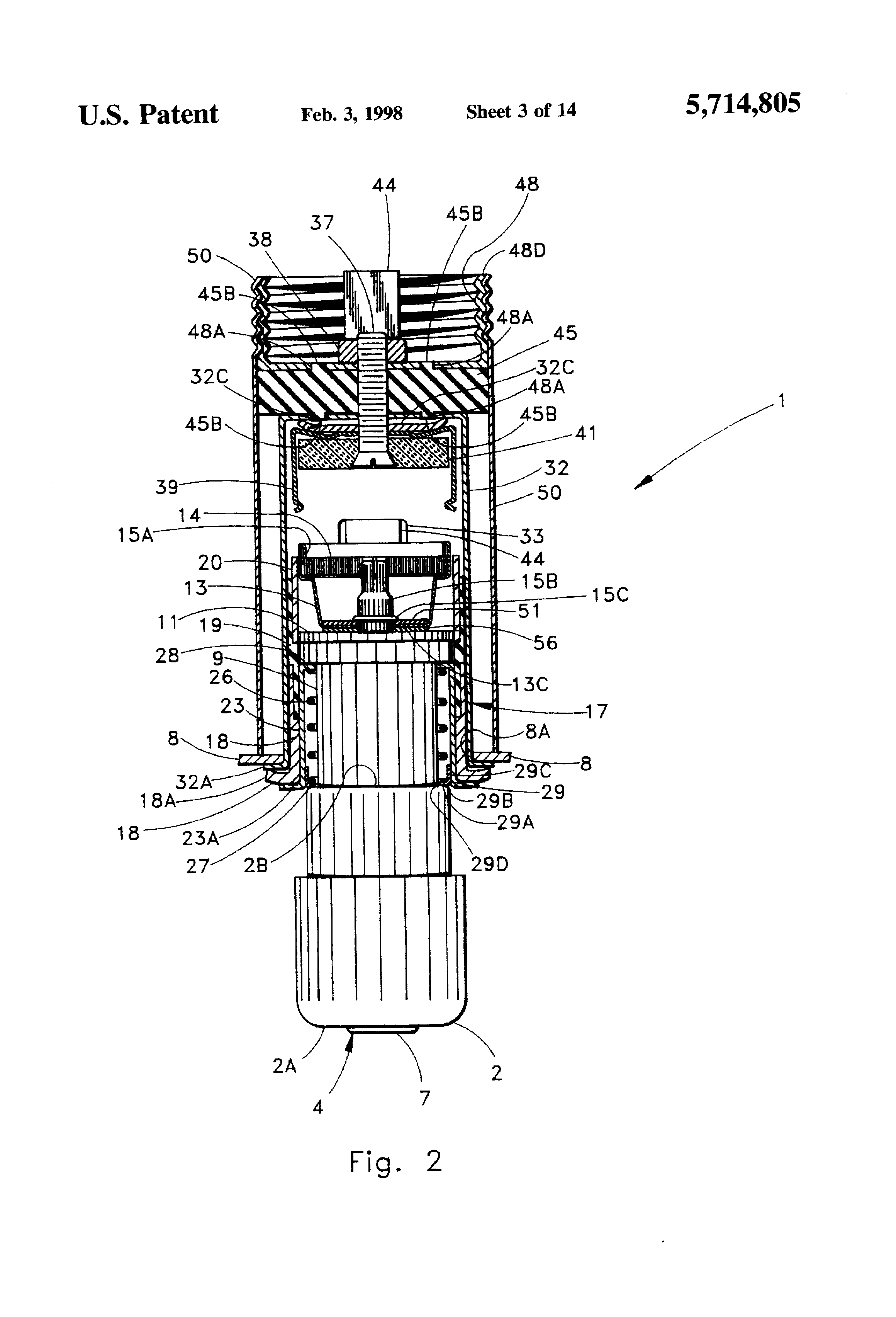 Patent Us5714805 Vehicle Accessory Power Take Off System
