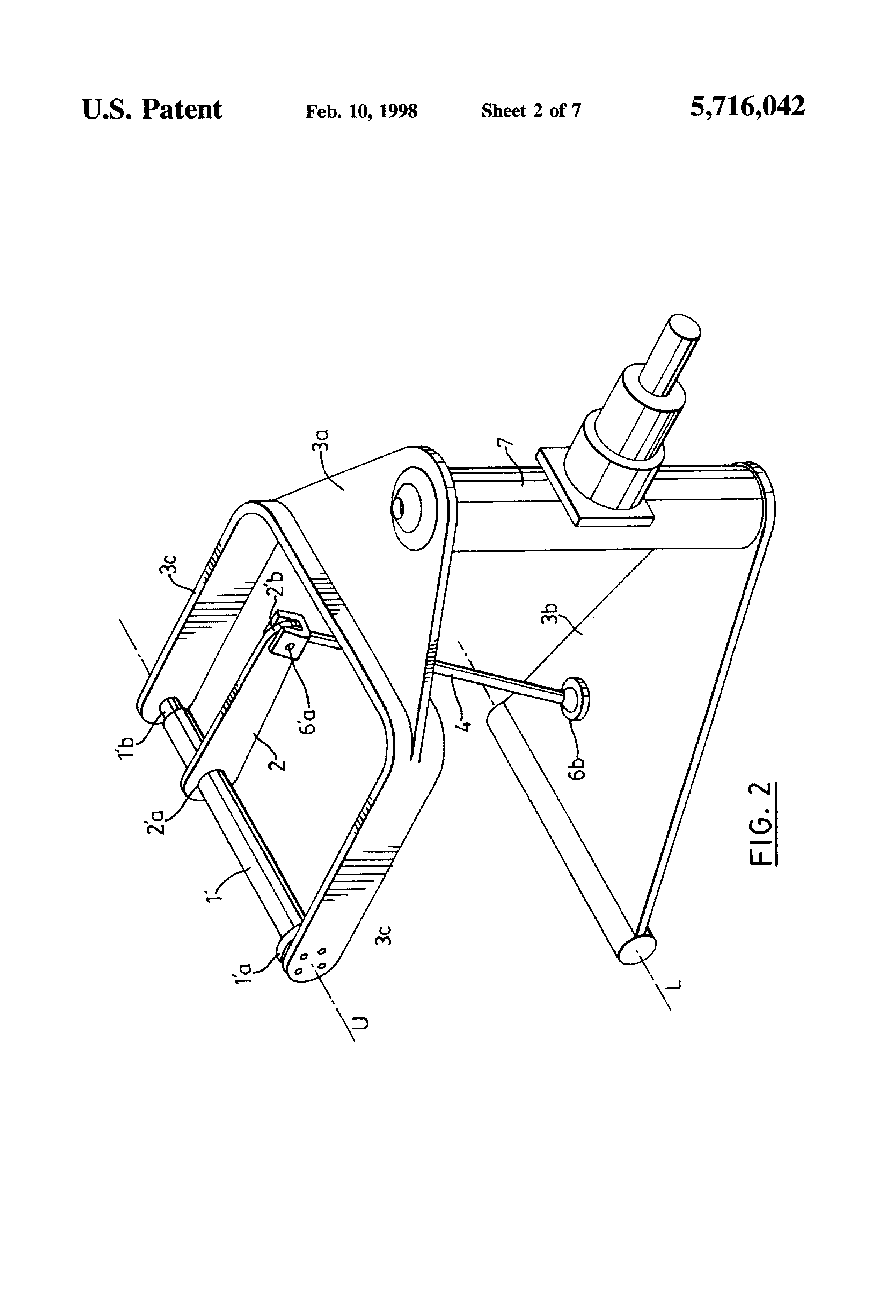 Patent US5716042 - Springing means for suspension systems