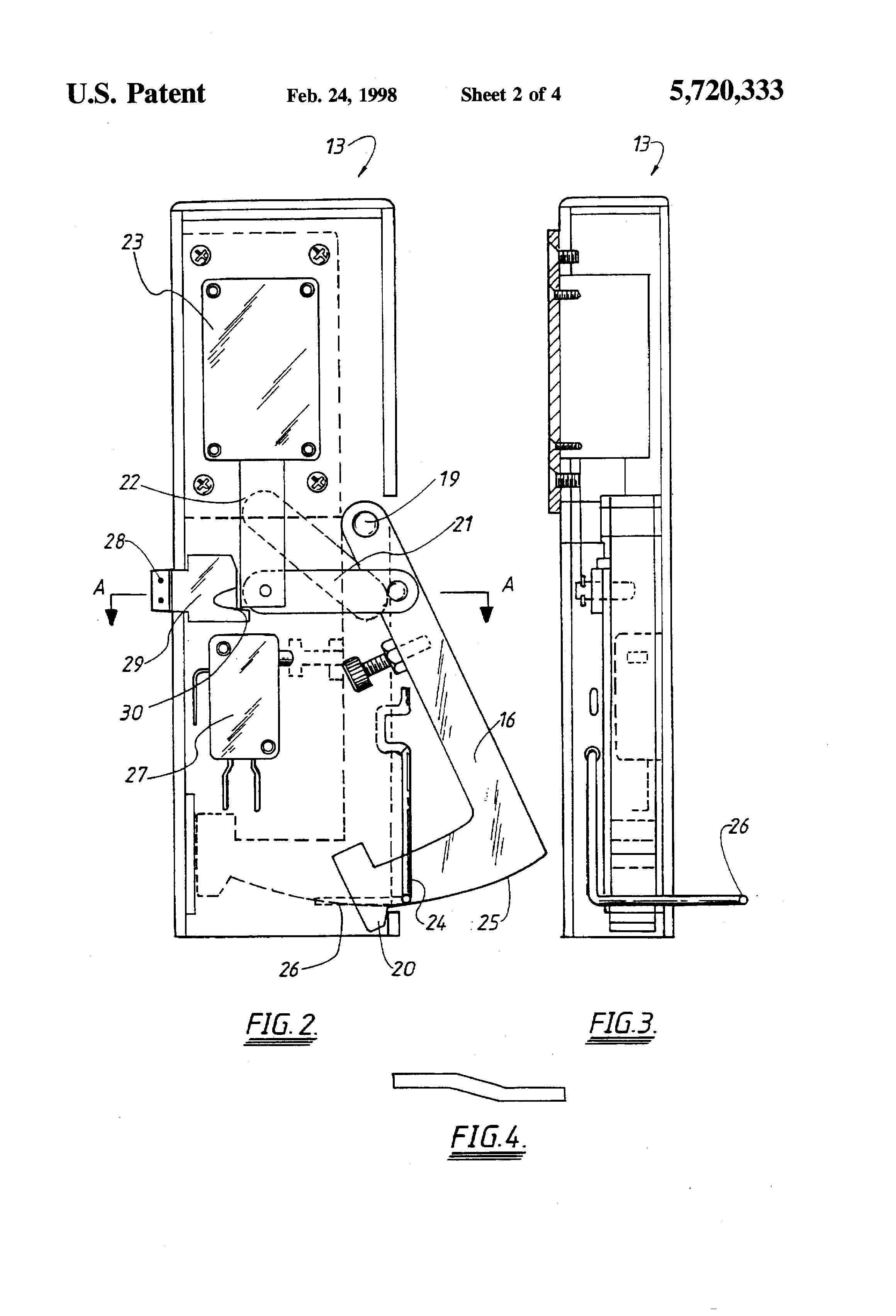 patent us locking assembly patents patent drawing