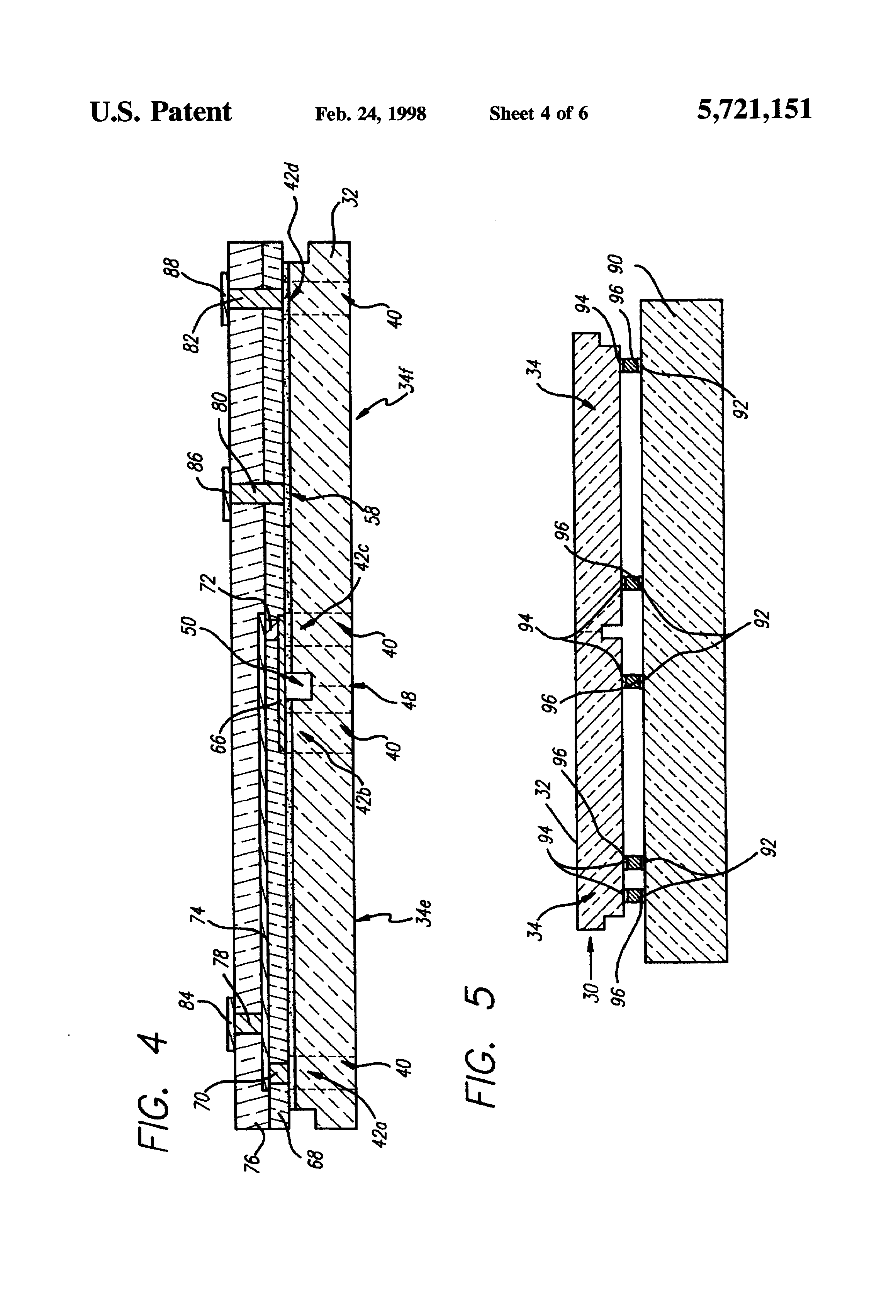 patent us5721151