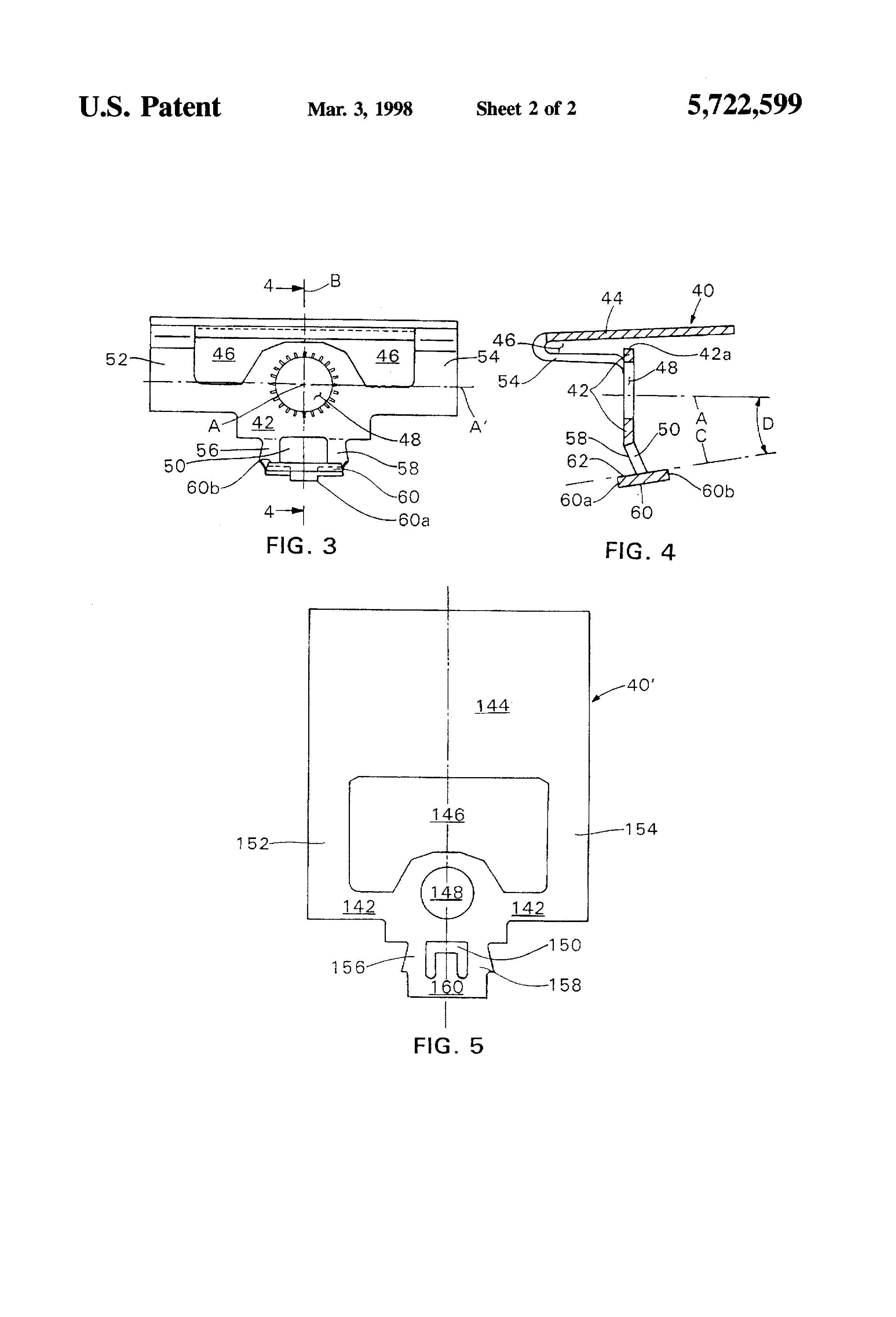 Patent Us5722599 Sidewall Fire Sprinkler Head Google Patents