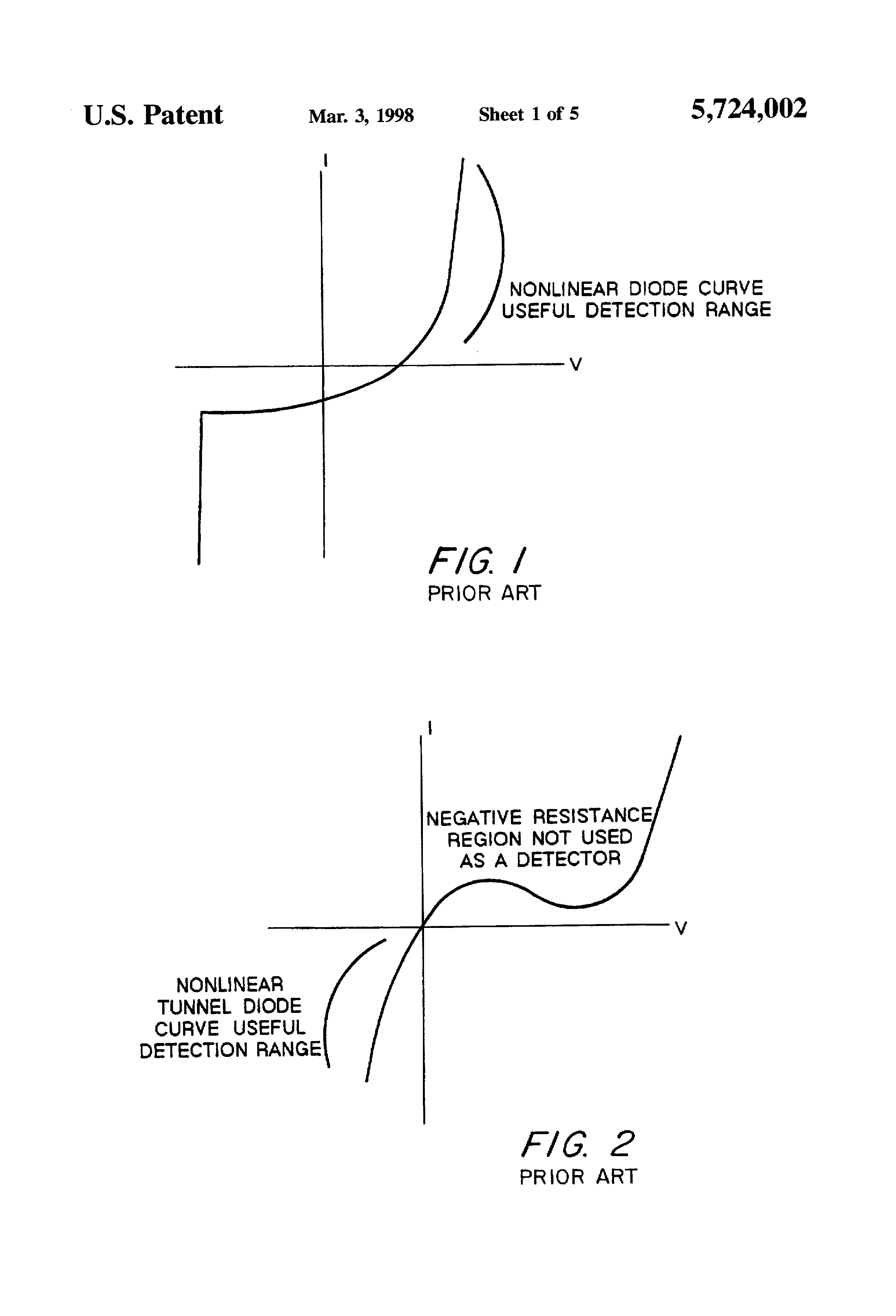 Patent Us5724002 Envelope Detector Including Sample And Hold Figure 3 Simple Lowpass Rc Circuit With Source Voltage Drawing