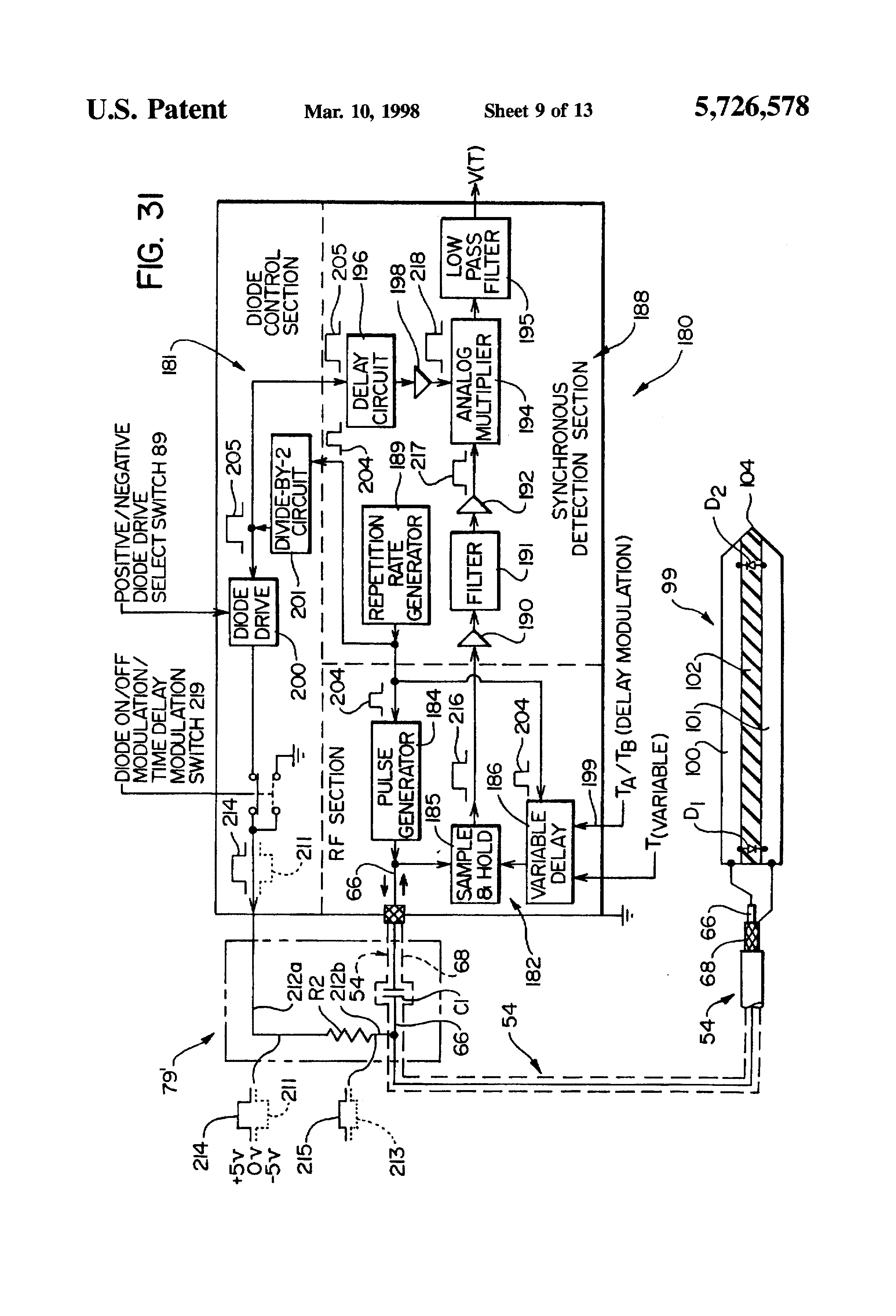 Patent Us5726578 Apparatus And Methods For Time Domain Analog Delay Circuit Drawing
