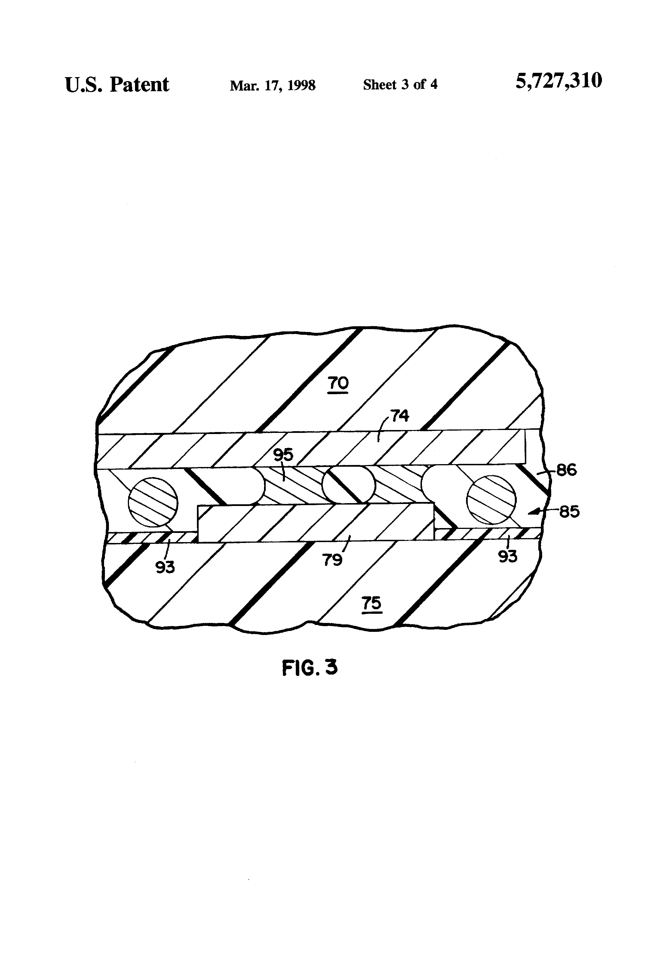 Patent Us5727310 Method Of Manufacturing A Multilayer Electronic Density 3m Adhesive Circuit Board Assembly Double Sided Drawing