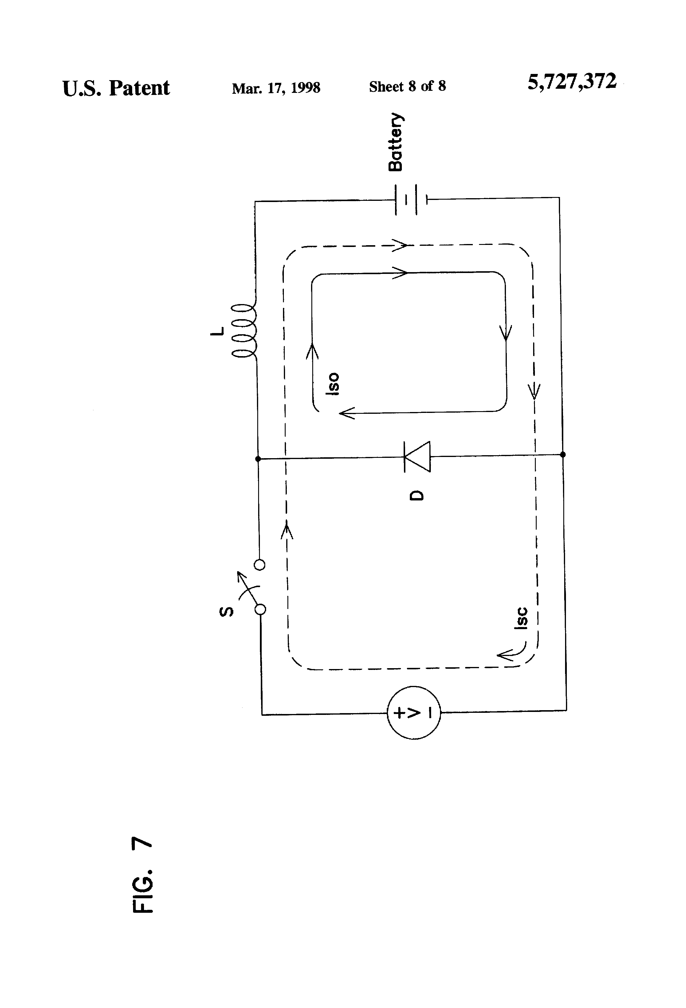 patent us5727372 - on-board charging system for electric ... lawn mower ignition switch wiring diagram lawn mower battery charging system diagram