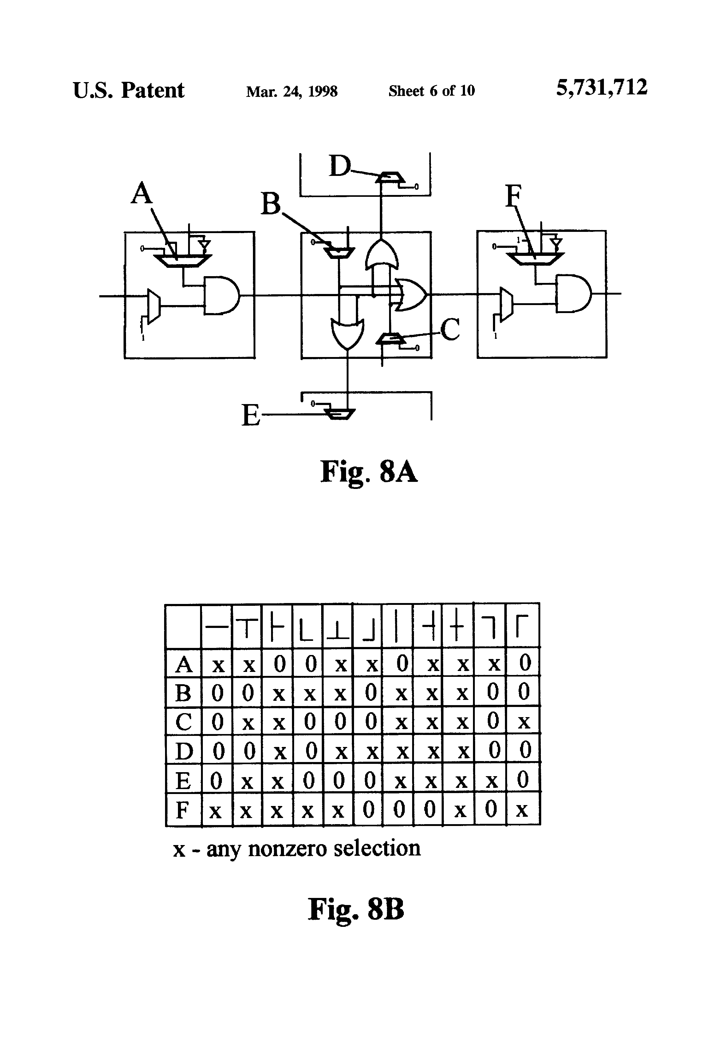 Patent Us5731712 Programmable Gate Array For Relay