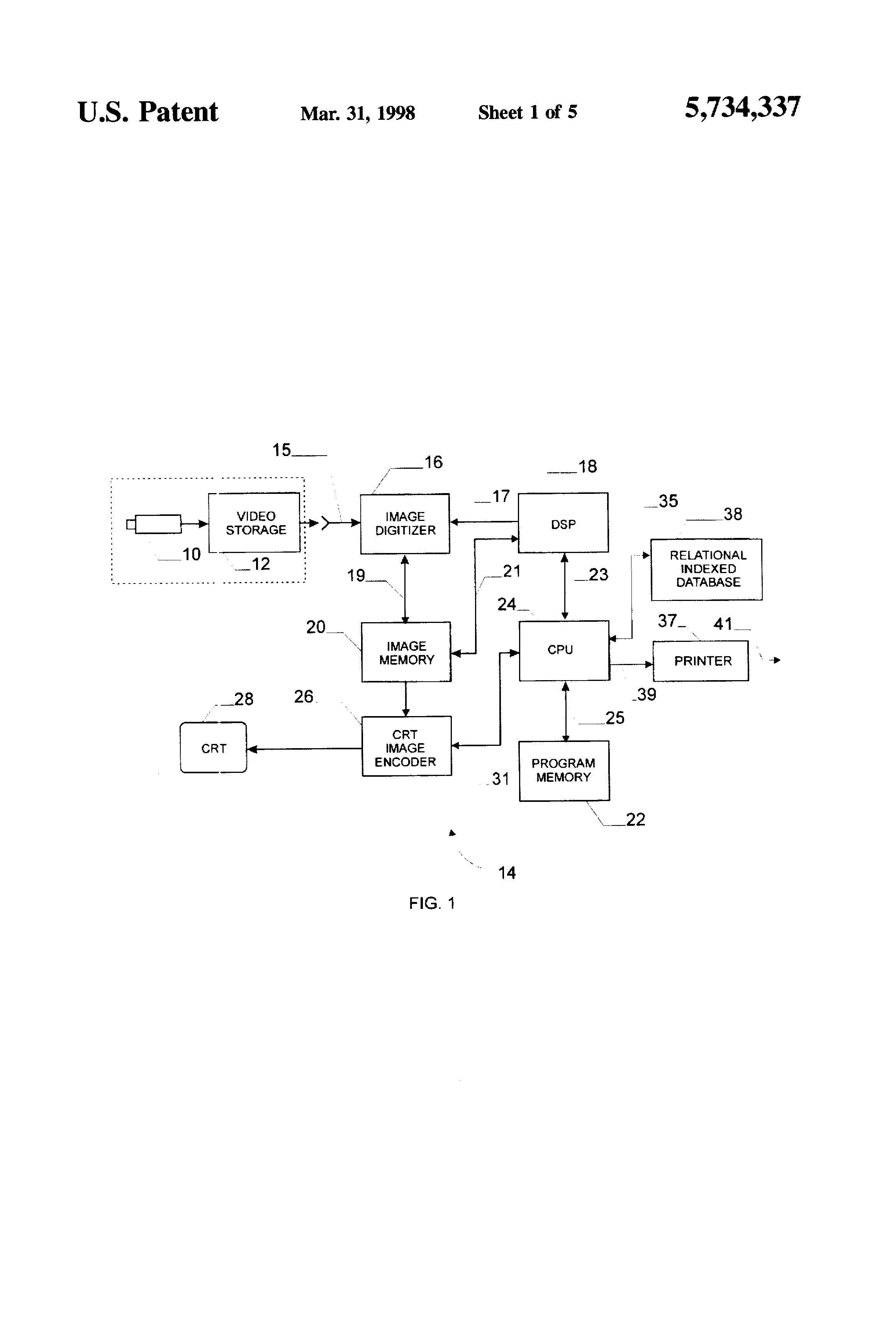 Patent Us5734337 Vehicle Speed Monitoring System Google Patents Visiblelight Audio Transmitter Circuit Diagram Tradeoficcom Drawing
