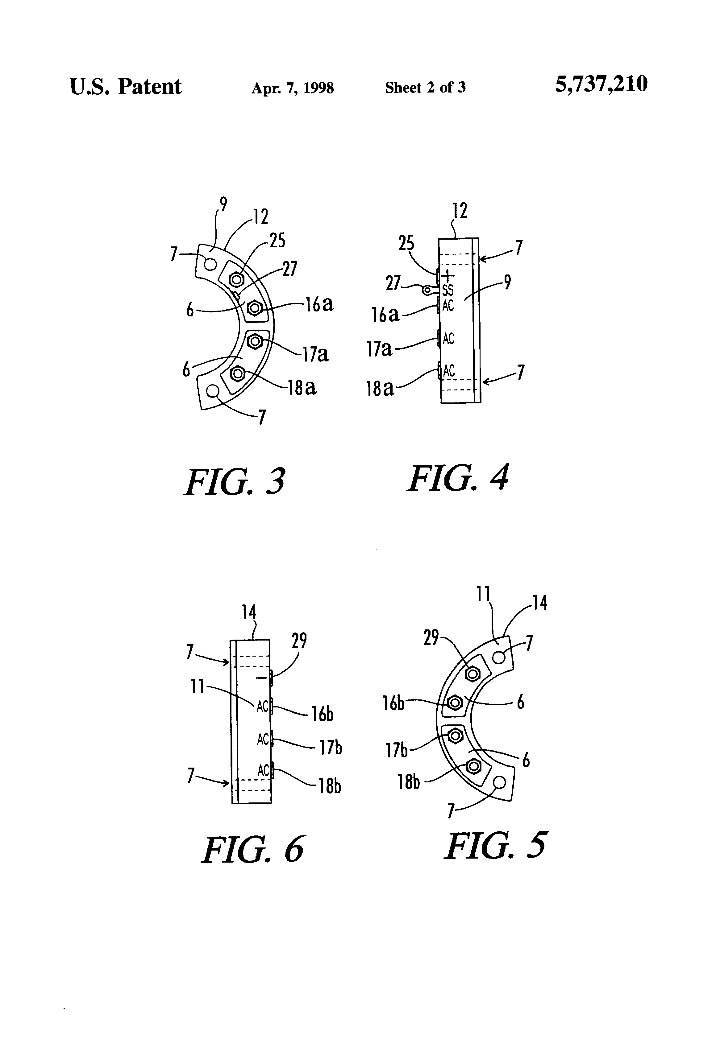 Patent Us5737210 Bridge Rectifier Configuration And Mounting For The Two Diodes Are Part Of 37 A Used In Circuit Drawing