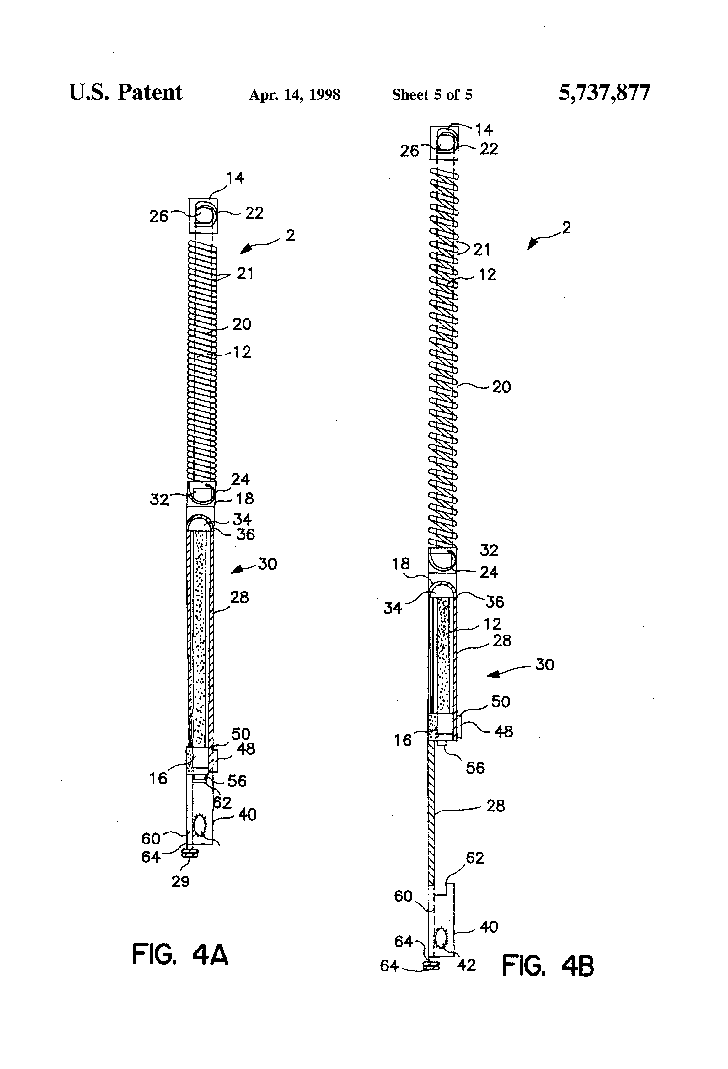 Patent Us5737877 Block And Tackle Balance With Integral