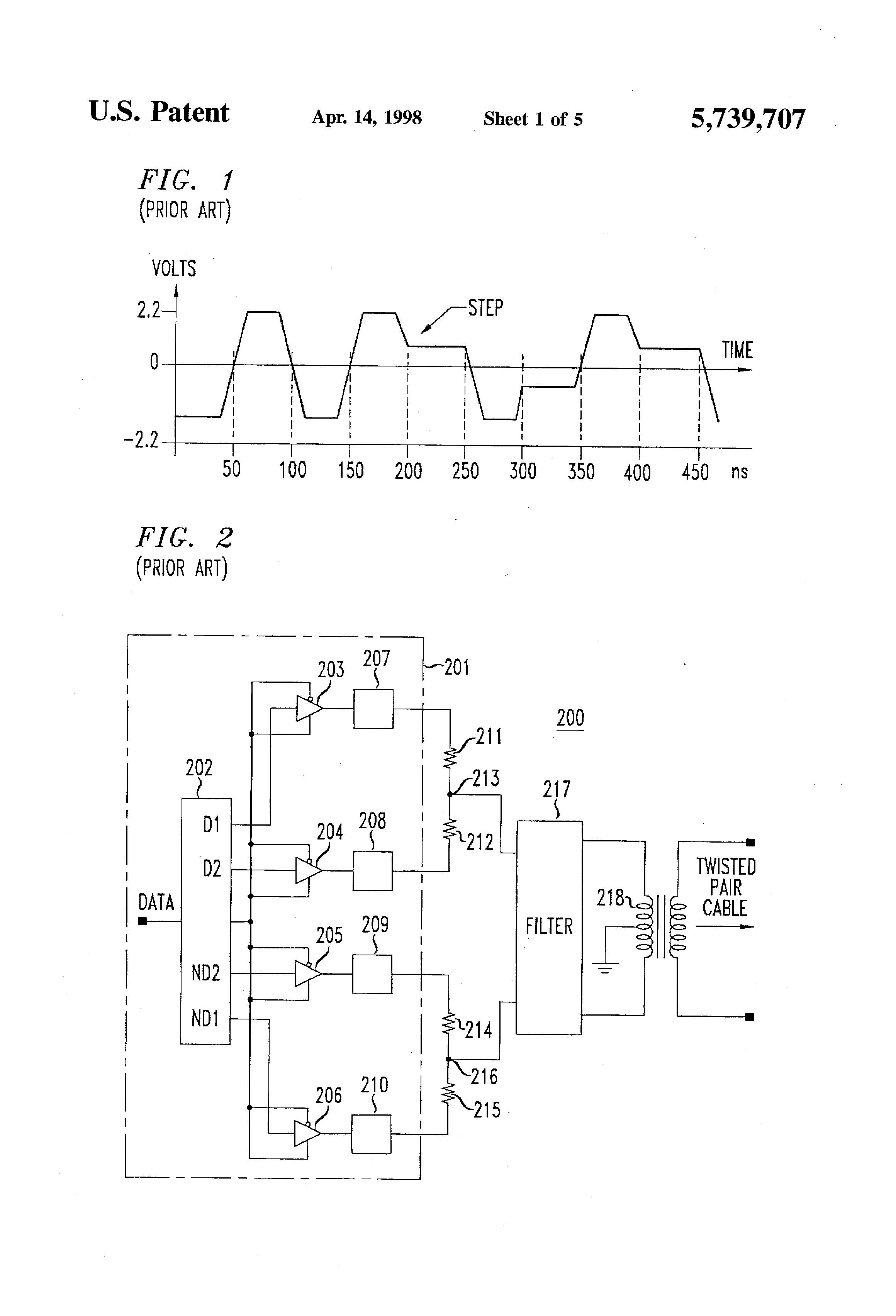 Snap Waveshaping Circuitswave Shaping Circuits Electric Equipment Ring Modulator Circuit Electricalequipmentcircuit Patent Us5739707 Wave Transmit Google