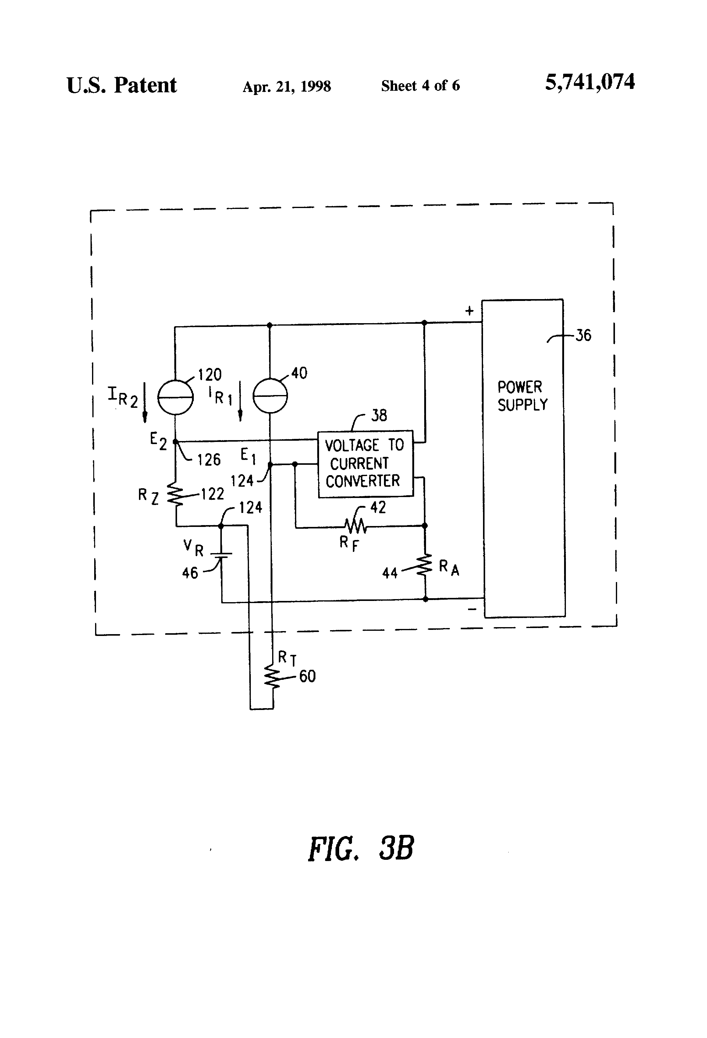 Patent Us5741074 Linear Integrated Sensing Transmitter Sensor Resistance Thermometer Current Loop Drawing