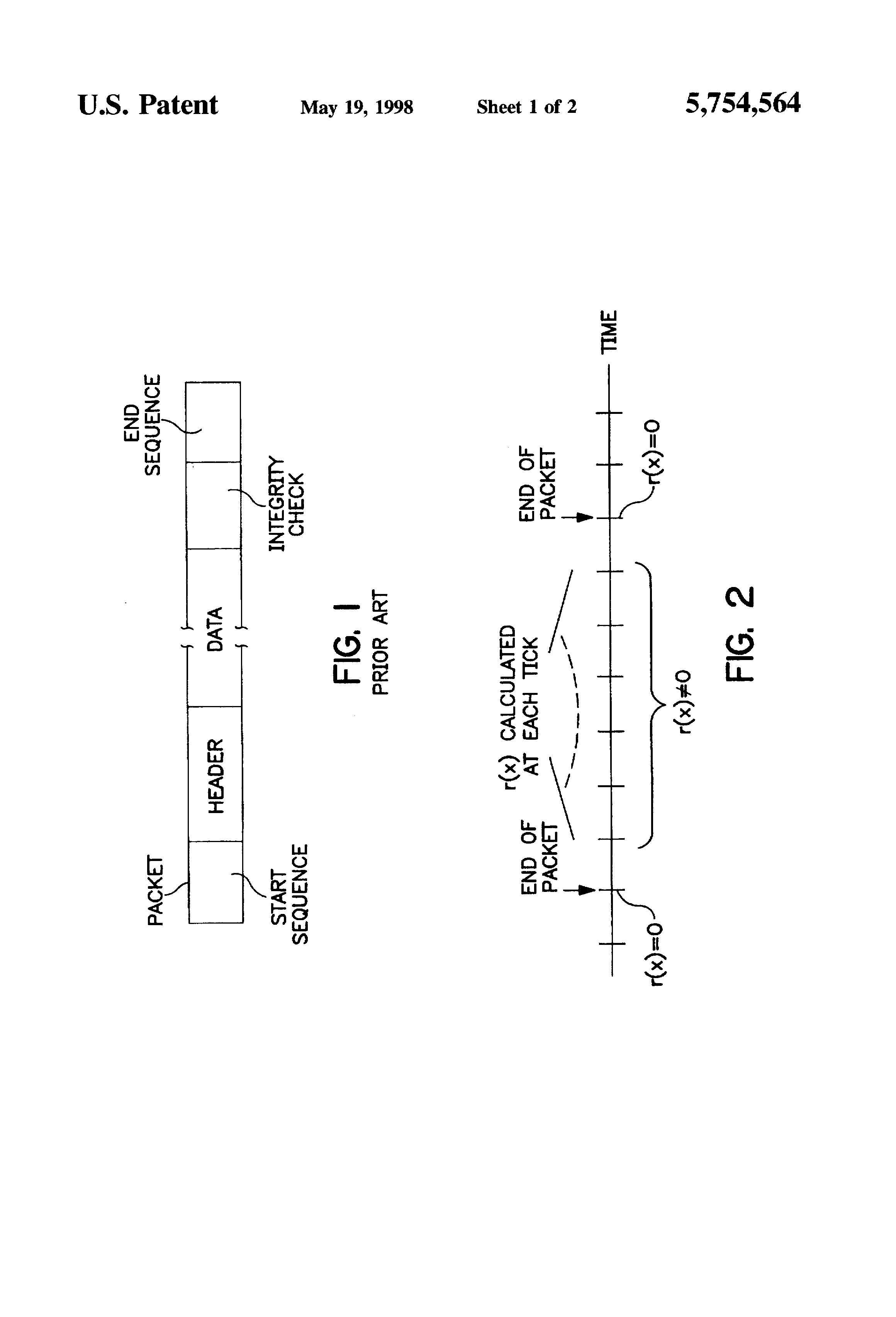 Patent US5754564 - Method of continuous calculation of