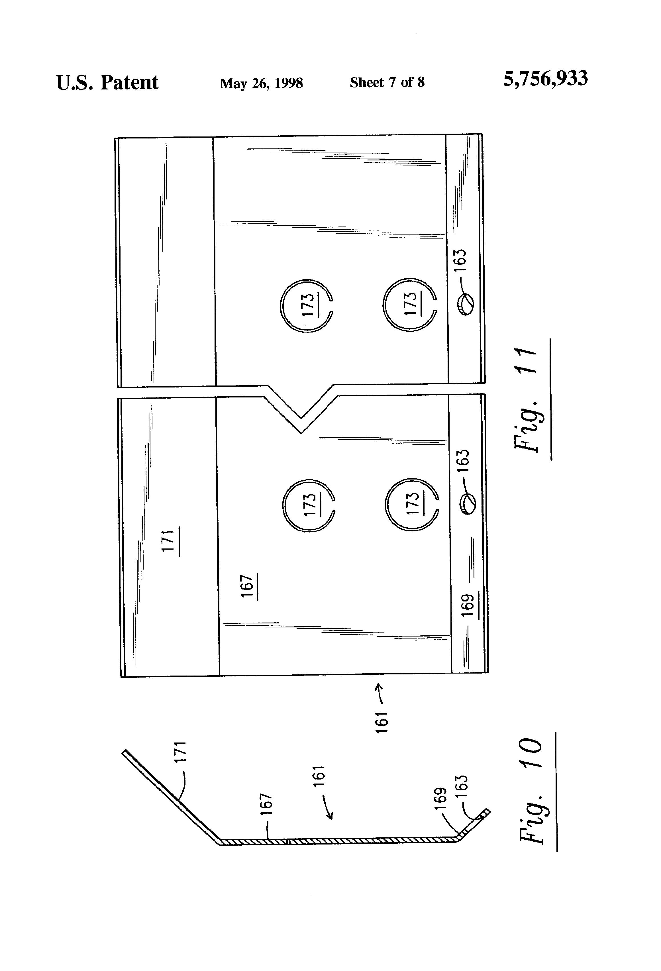 patent us5756933