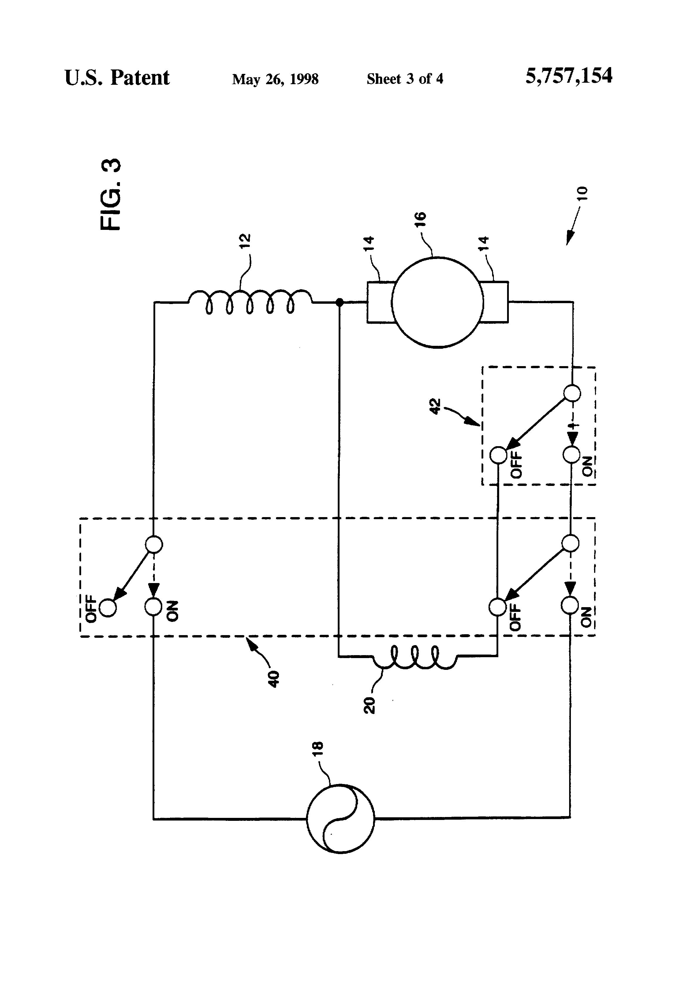 Universal Motor Circuit Diagram