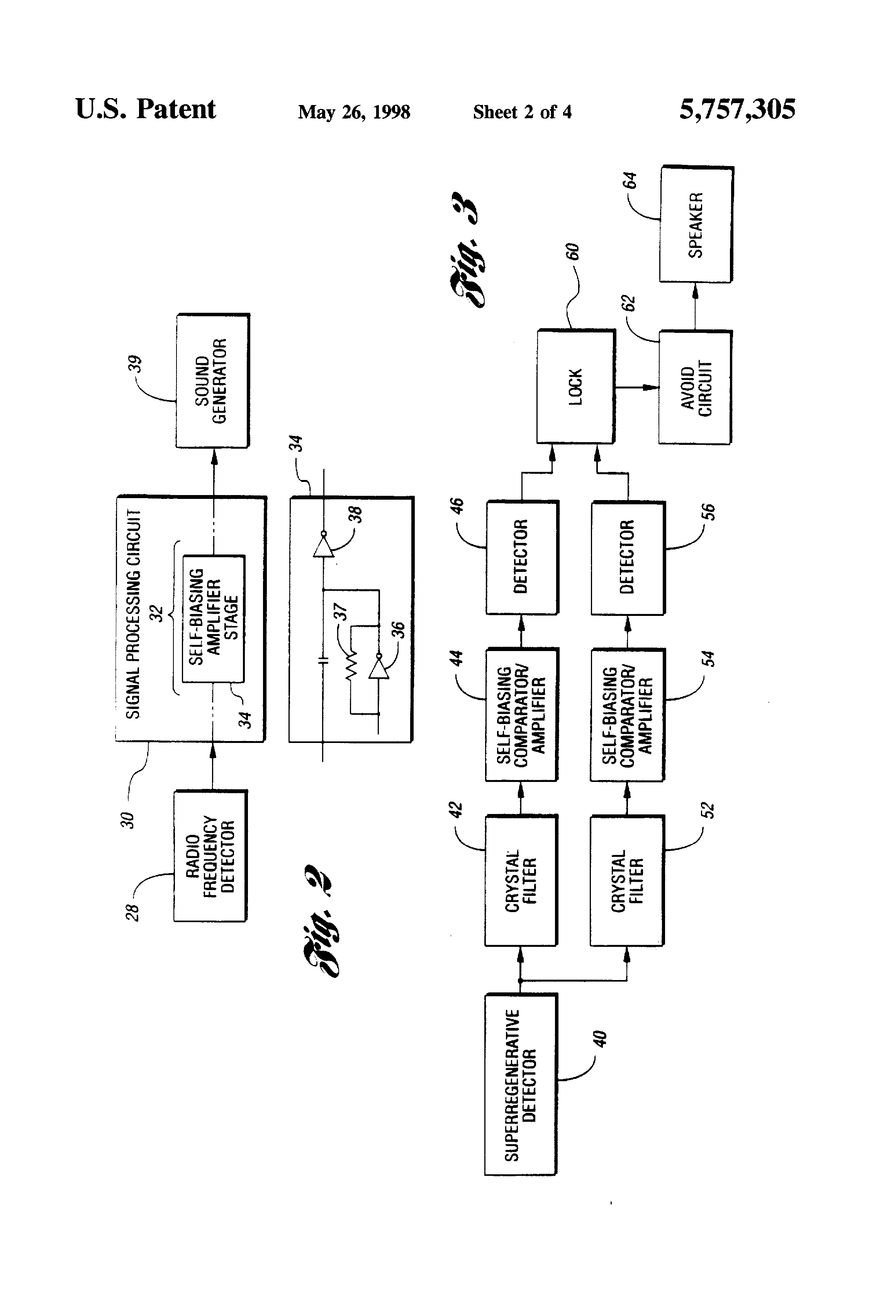 patent us5757305