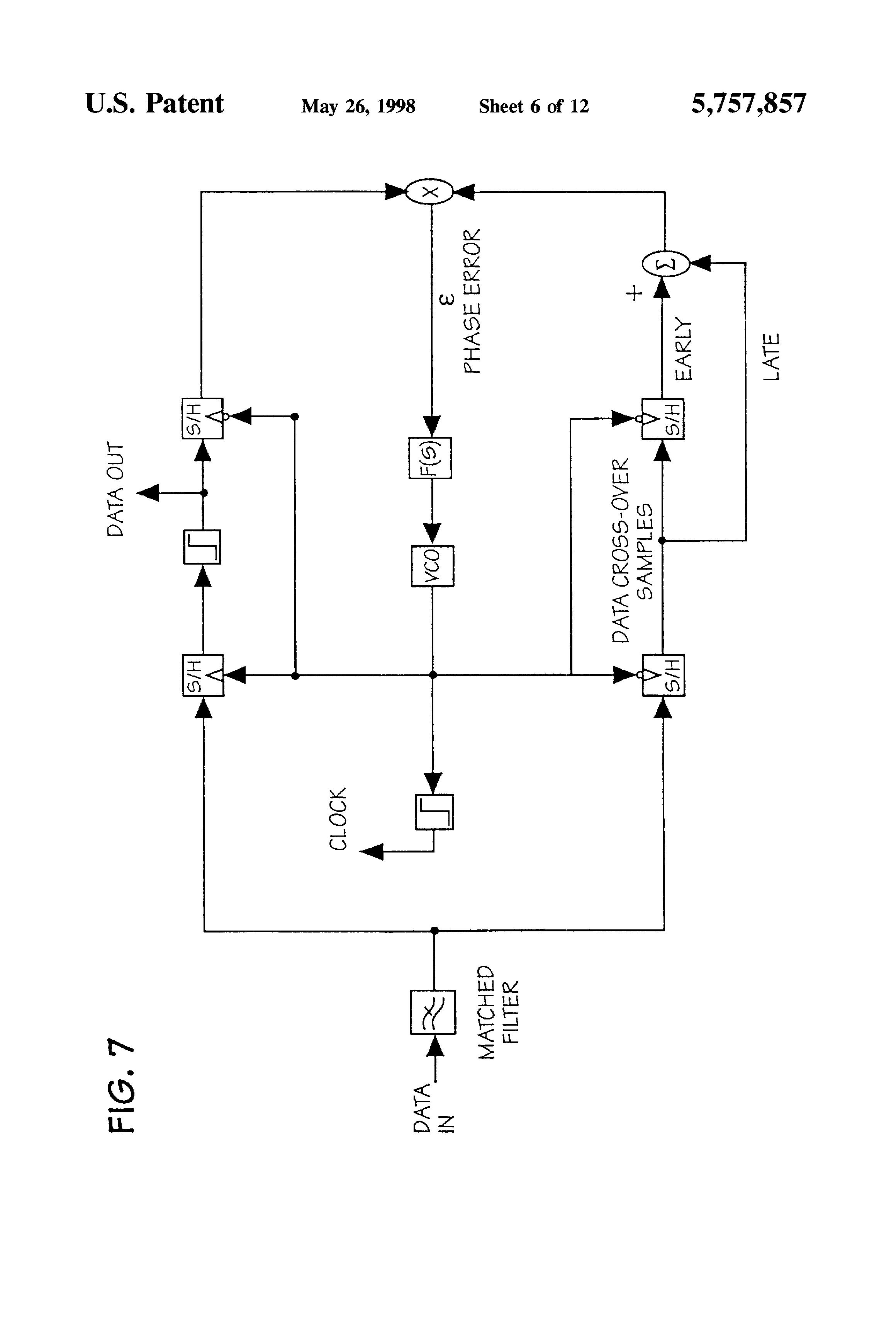 patent us5757857