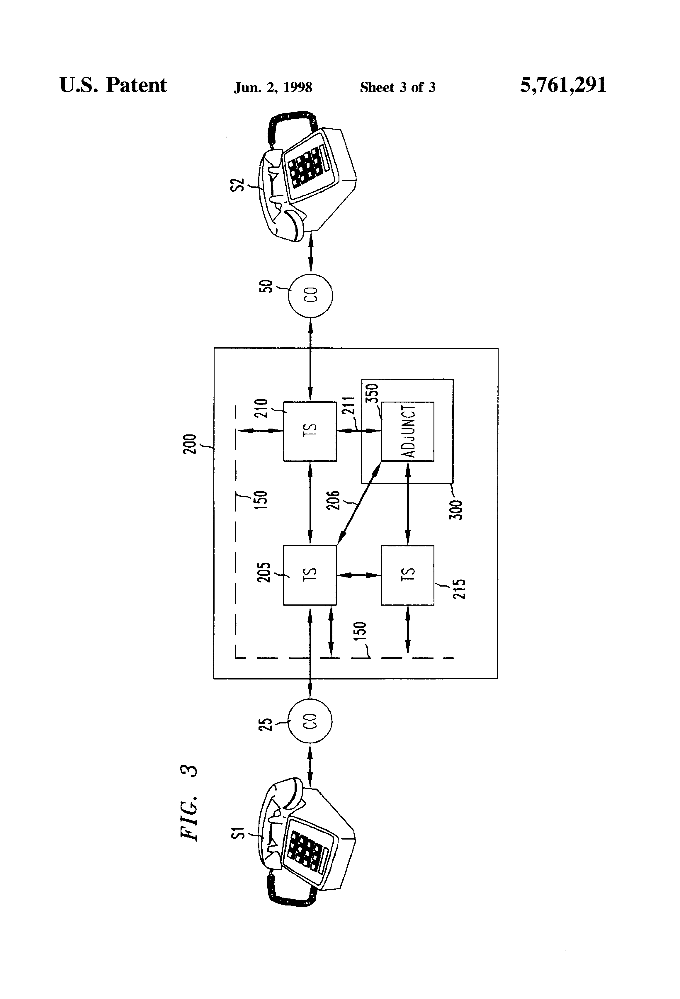 Patent US5761291 Method of assigning telephone area codes