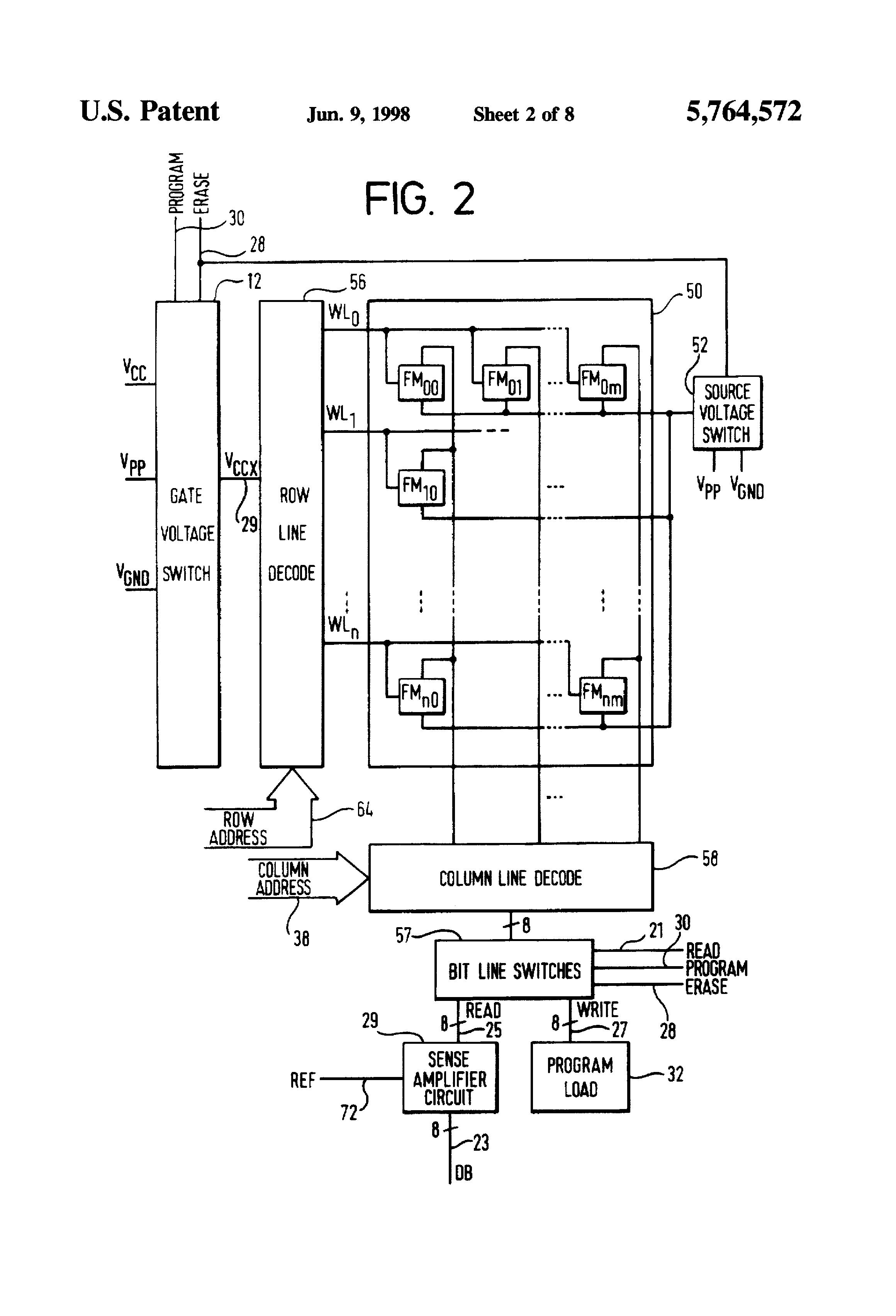patent us5764572