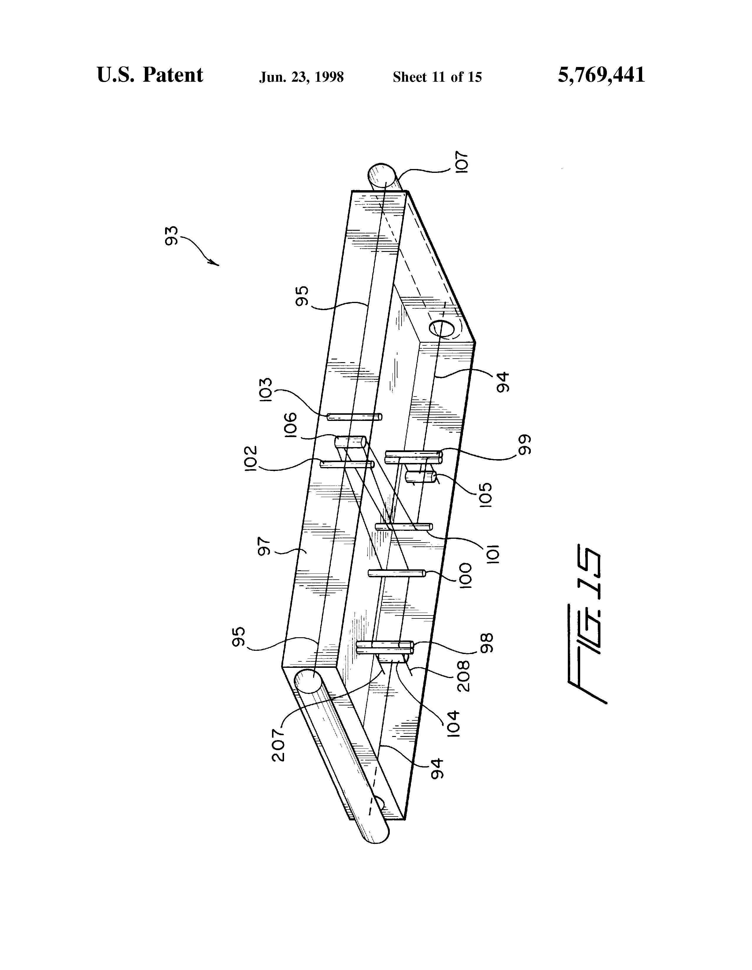 Patent Us5769441 Vehicle Having Two Axially Spaced