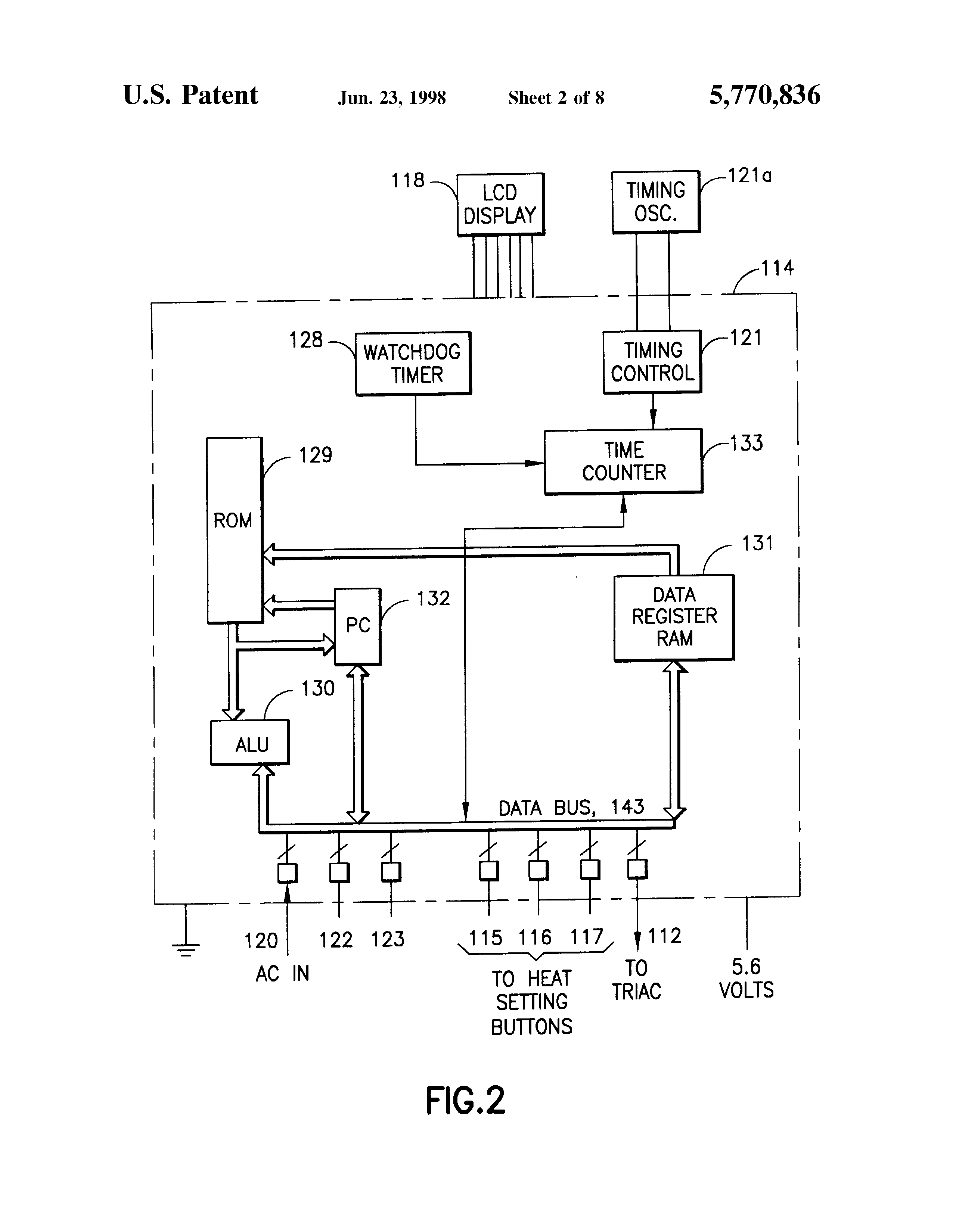Patent Us5770836 - Resettable Safety Circuit For Ptc Electric Blankets And The Like