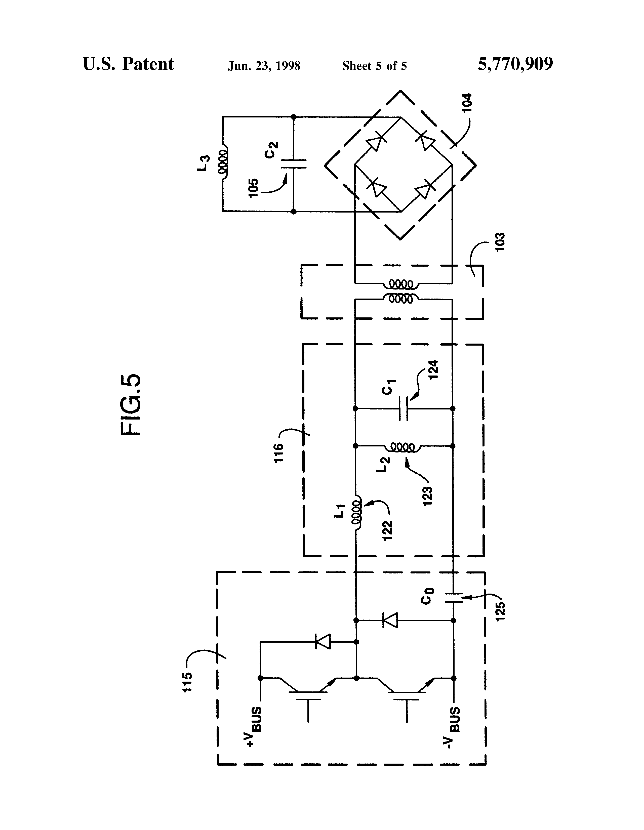 Patent Us5770909 Wound Rotor Synchronous Motor Generator