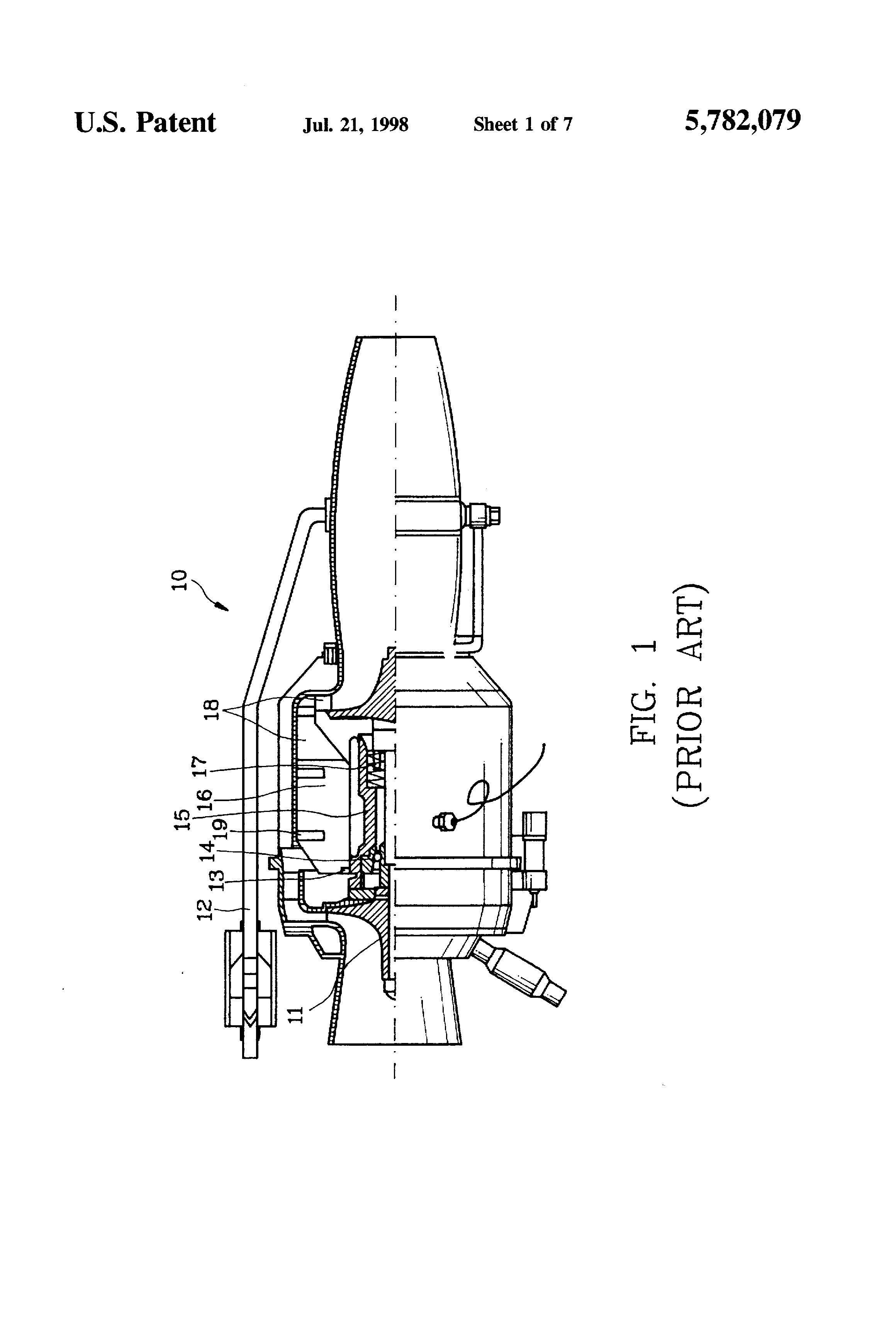 Patent Us5782079 Miniature Liquid Fueled Turbojet Engine