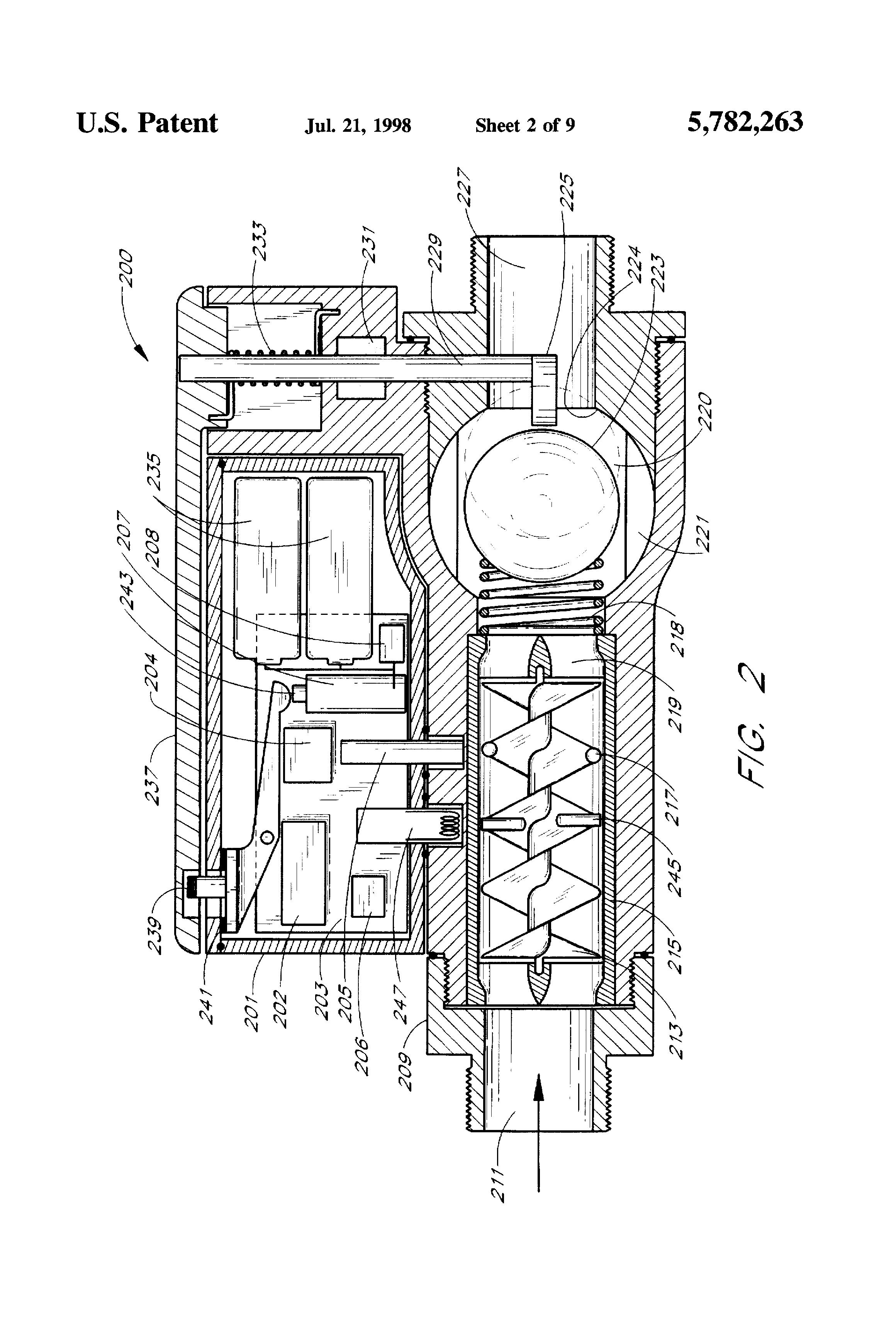 patent us5782263 - flood control device