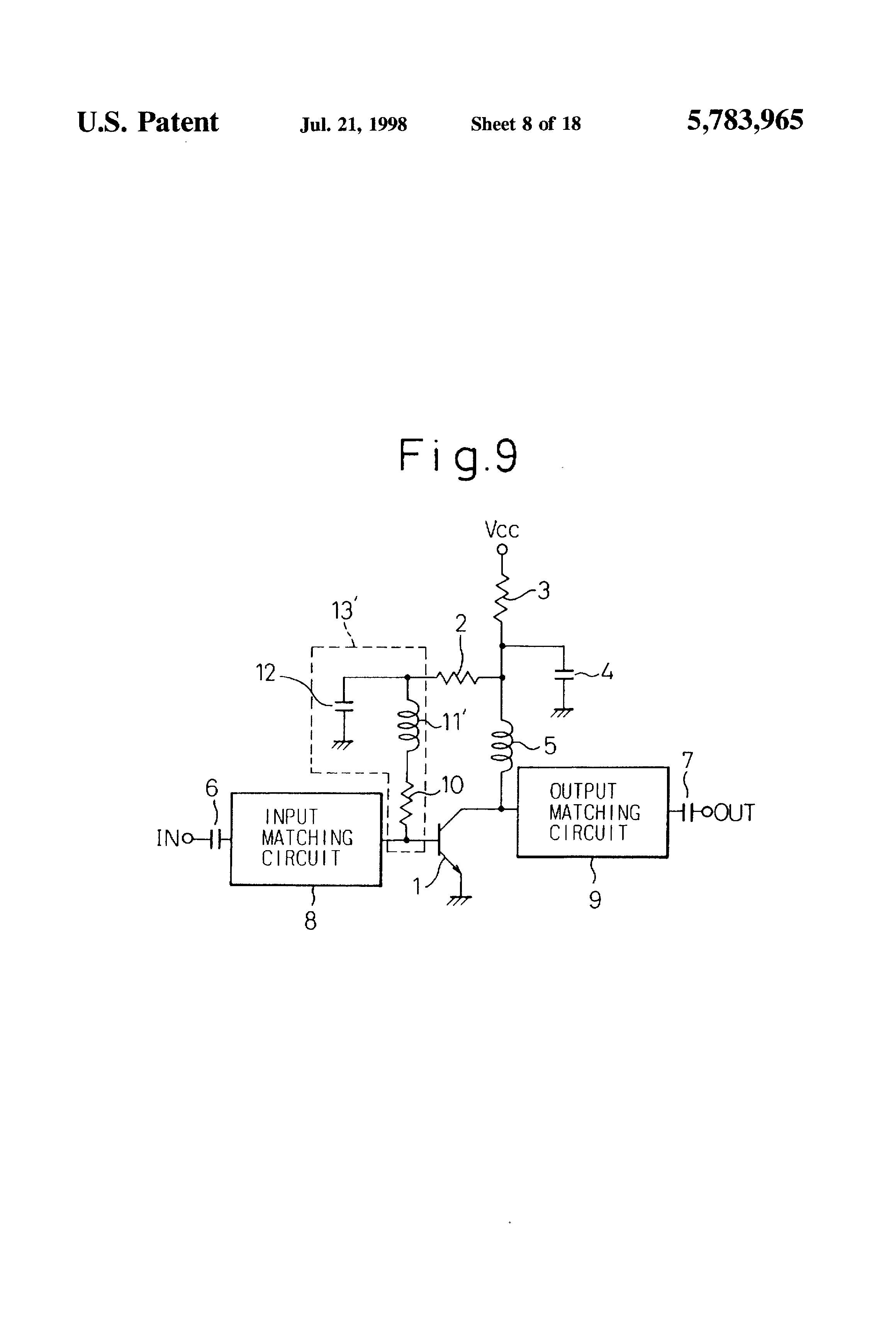 Patente Us5783965 Bias Circuit Google Patentes Integrated Filtercircuit Basiccircuit Diagram Patent Drawing