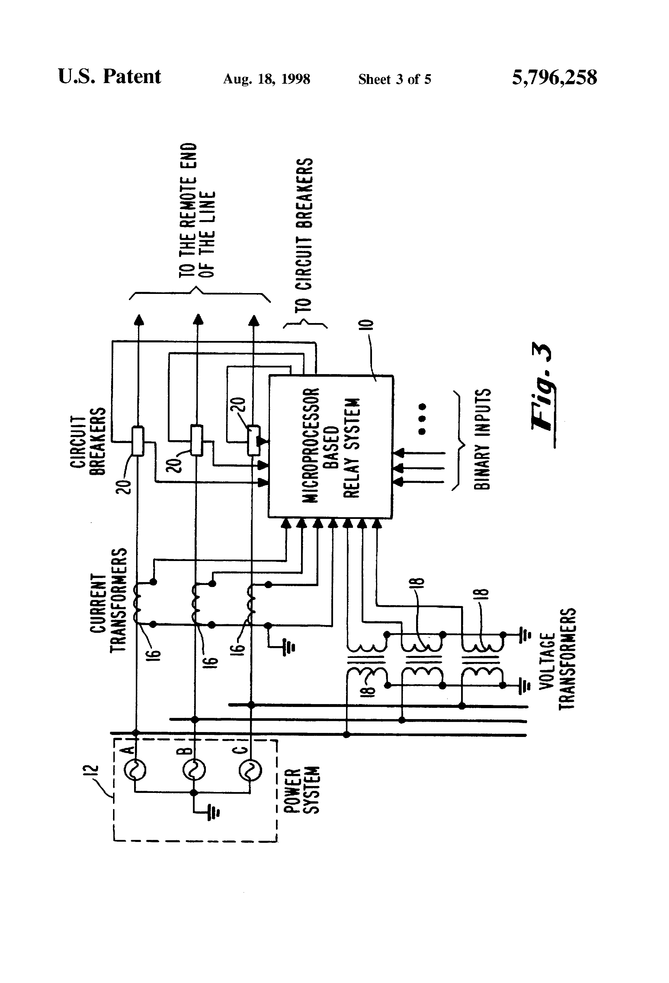 Patent Us5796258 Adaptive Quadrilateral Characteristic Distance Under Current Relay Abb Drawing