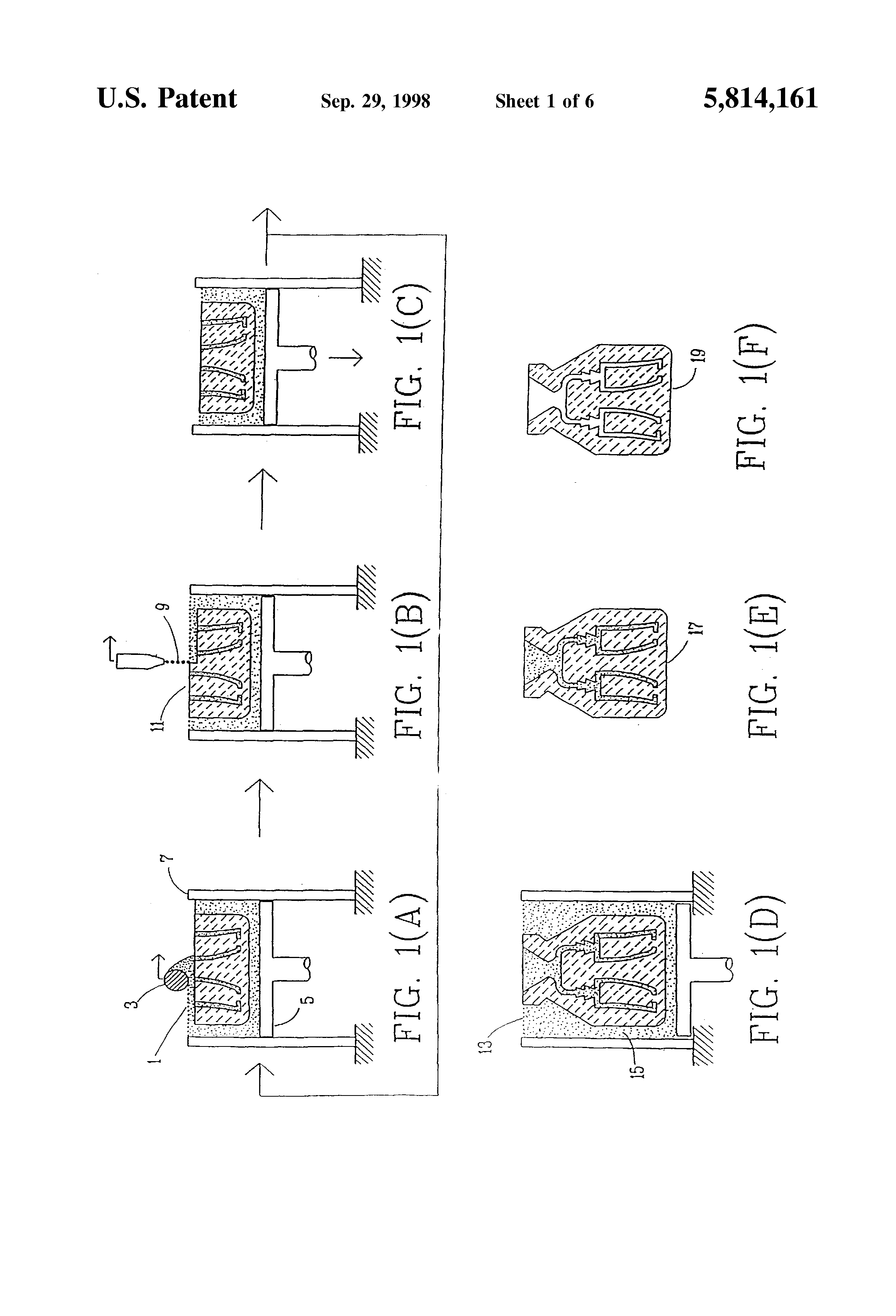 Patent US5814161 - Ceramic mold finishing techniques for