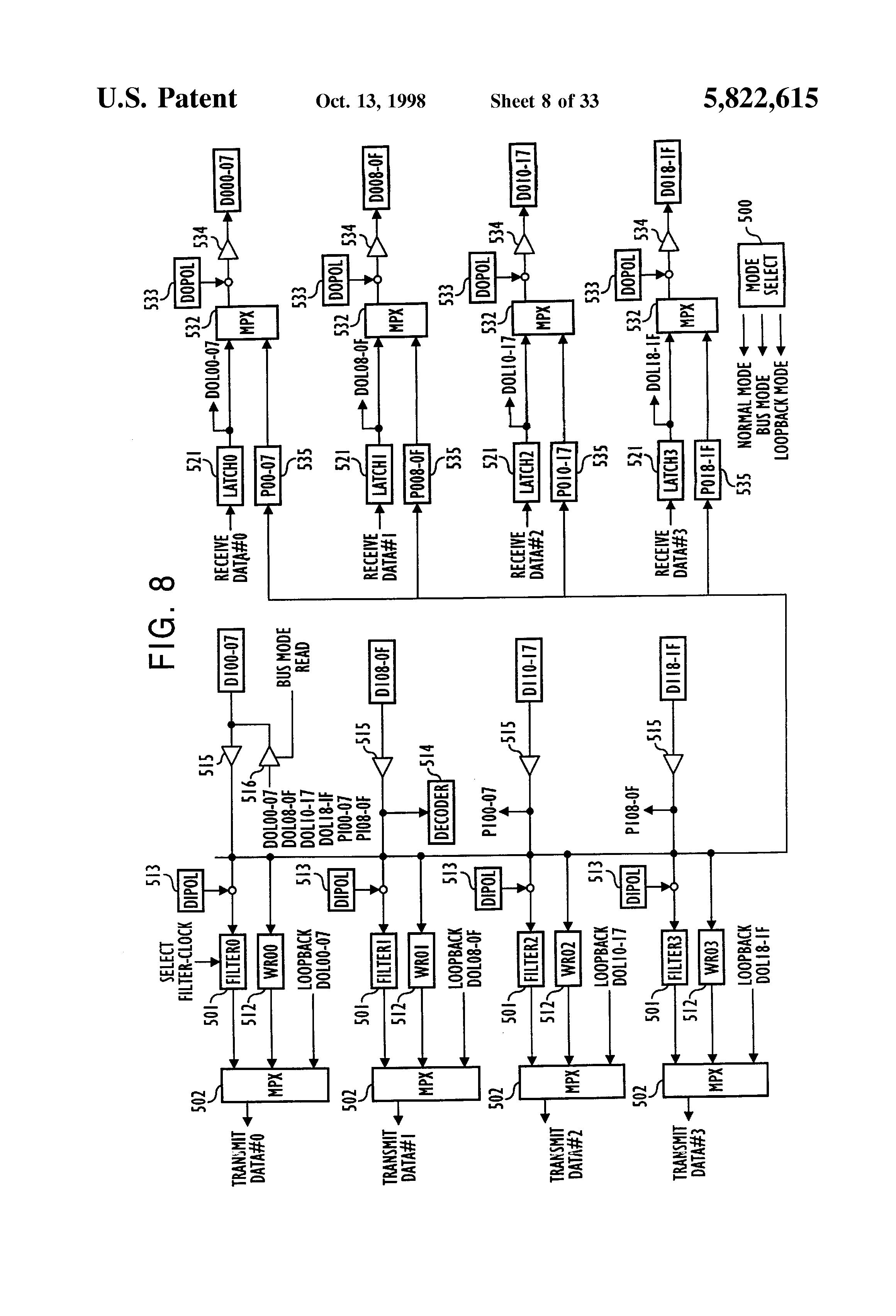 patent us5822615