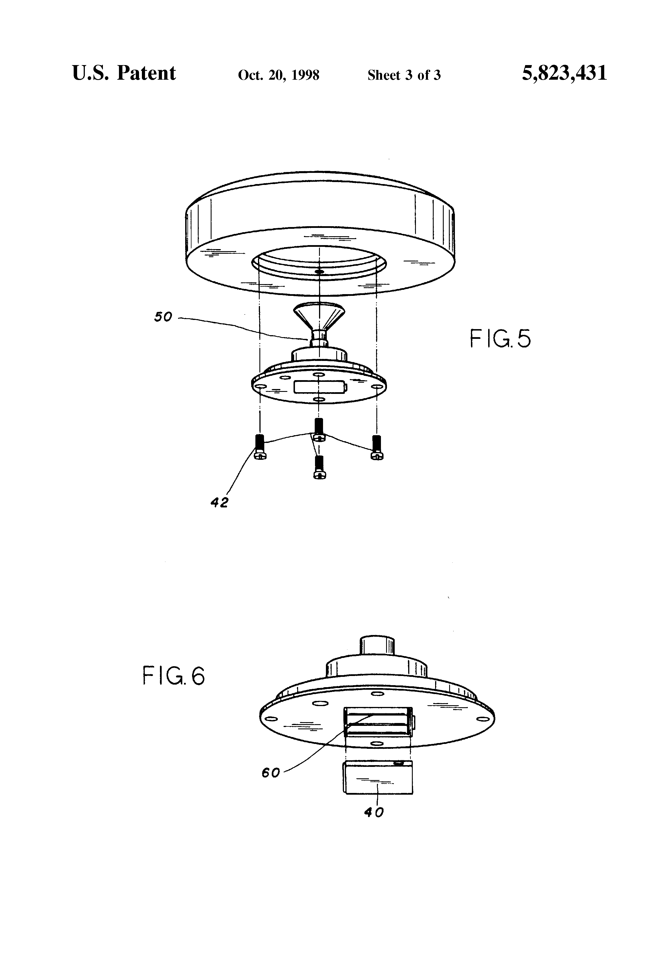 Patent US5823431 - Illuminated lawn sprinkler - Google Patents