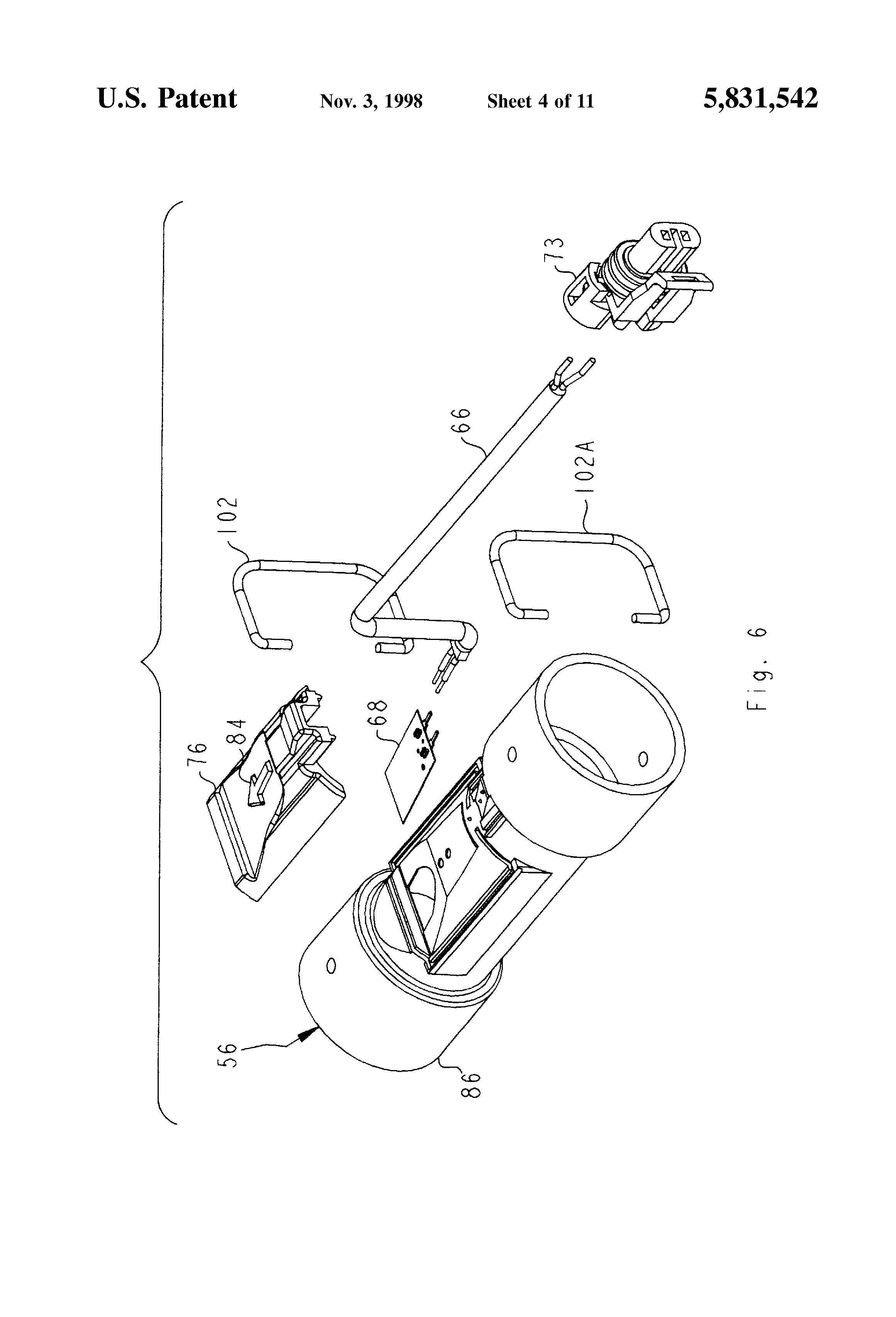 patent us5831542