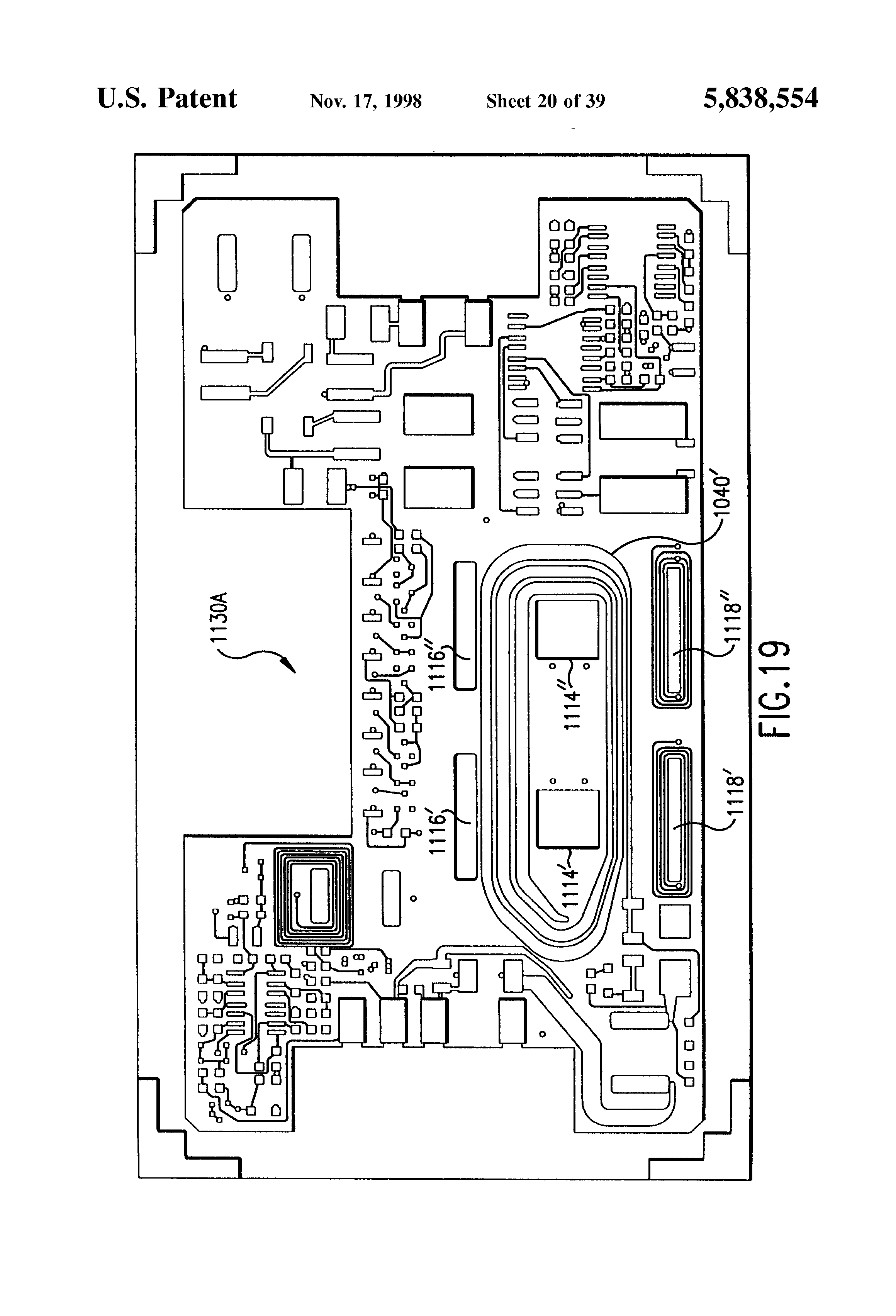 Patent Us5838554 Small Form Factor Power Supply Google Patents Rx95 Wiring Diagram Drawing