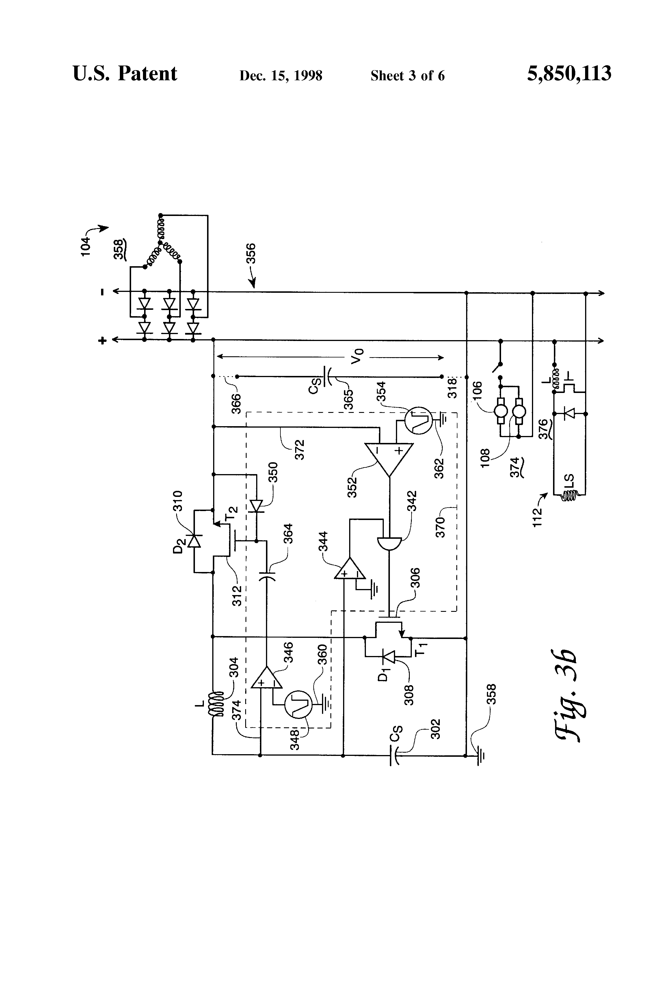 Patent Us5850113 Super Capacitor Battery Clone Google Patents Figure 1 Representative Circuit For A Capacitorcharging Drawing