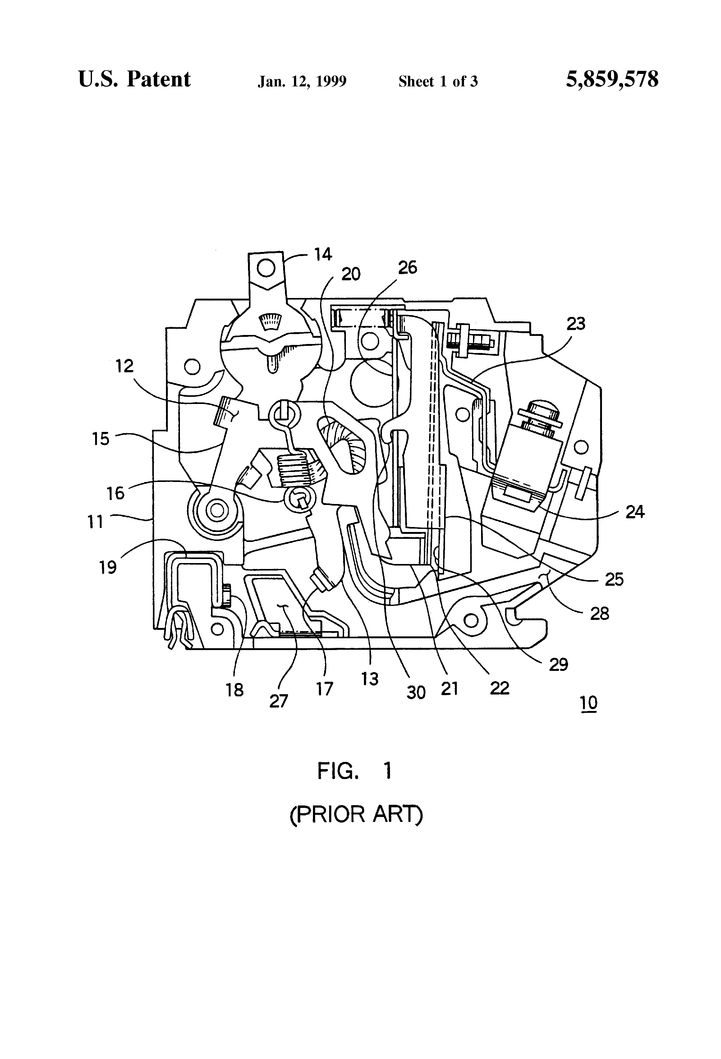 Patent Us5859578 Current Limiting Shunt For Circuit Drawing