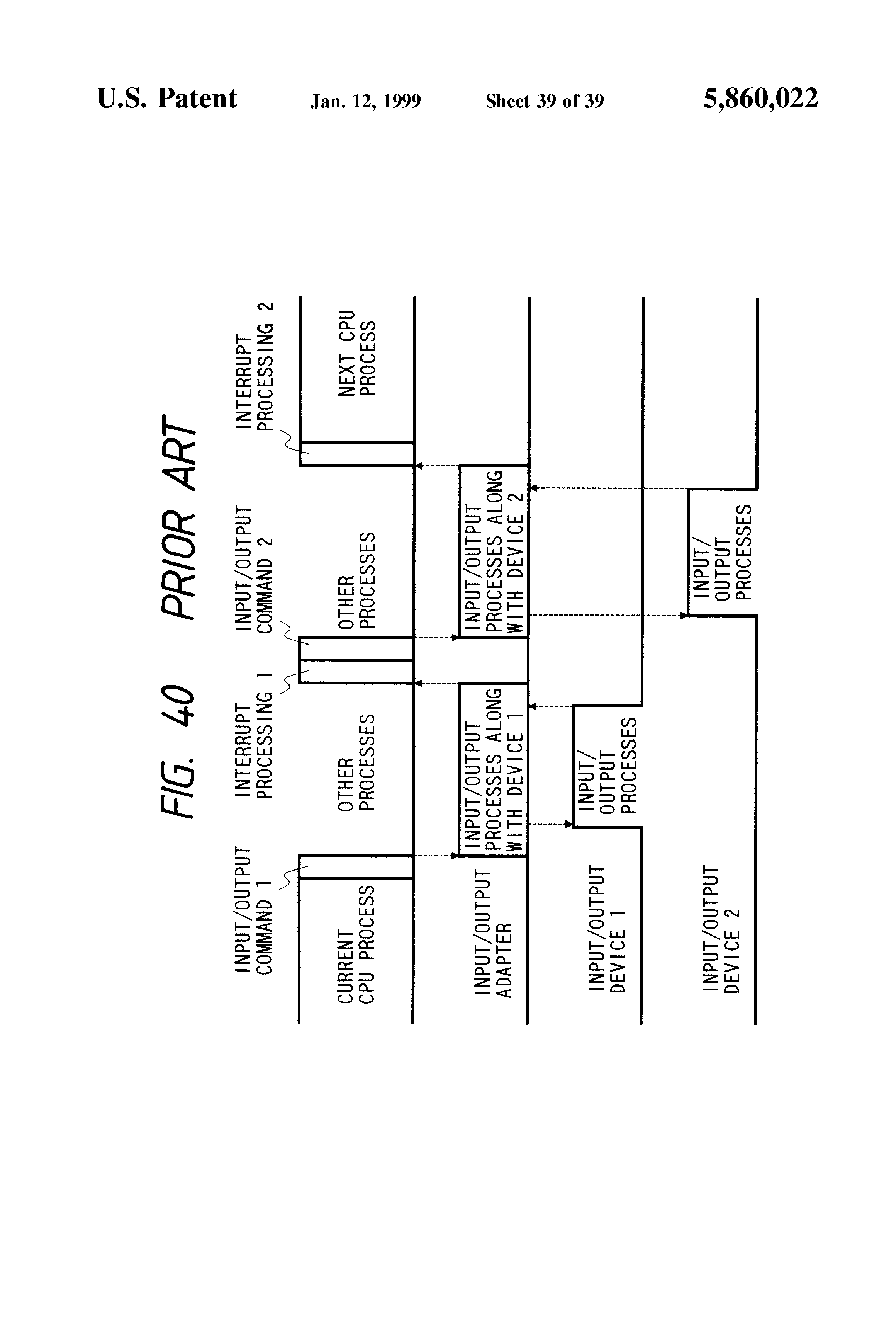patent us5860022  output commands therefrom