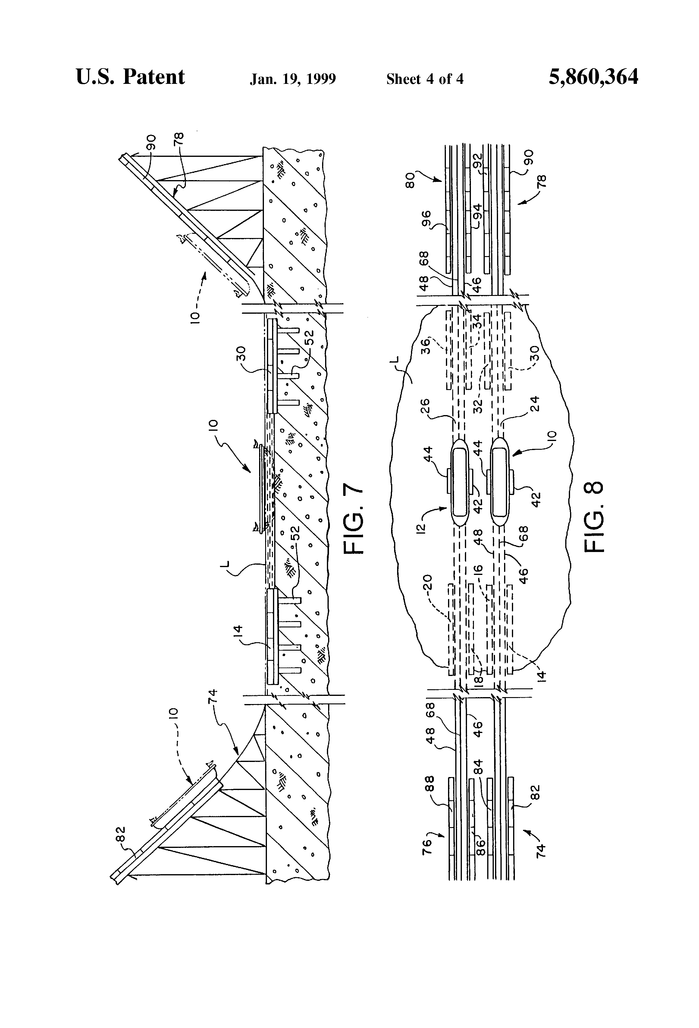 Patent Us5860364 Amusement Boat Ride Featuring Linear