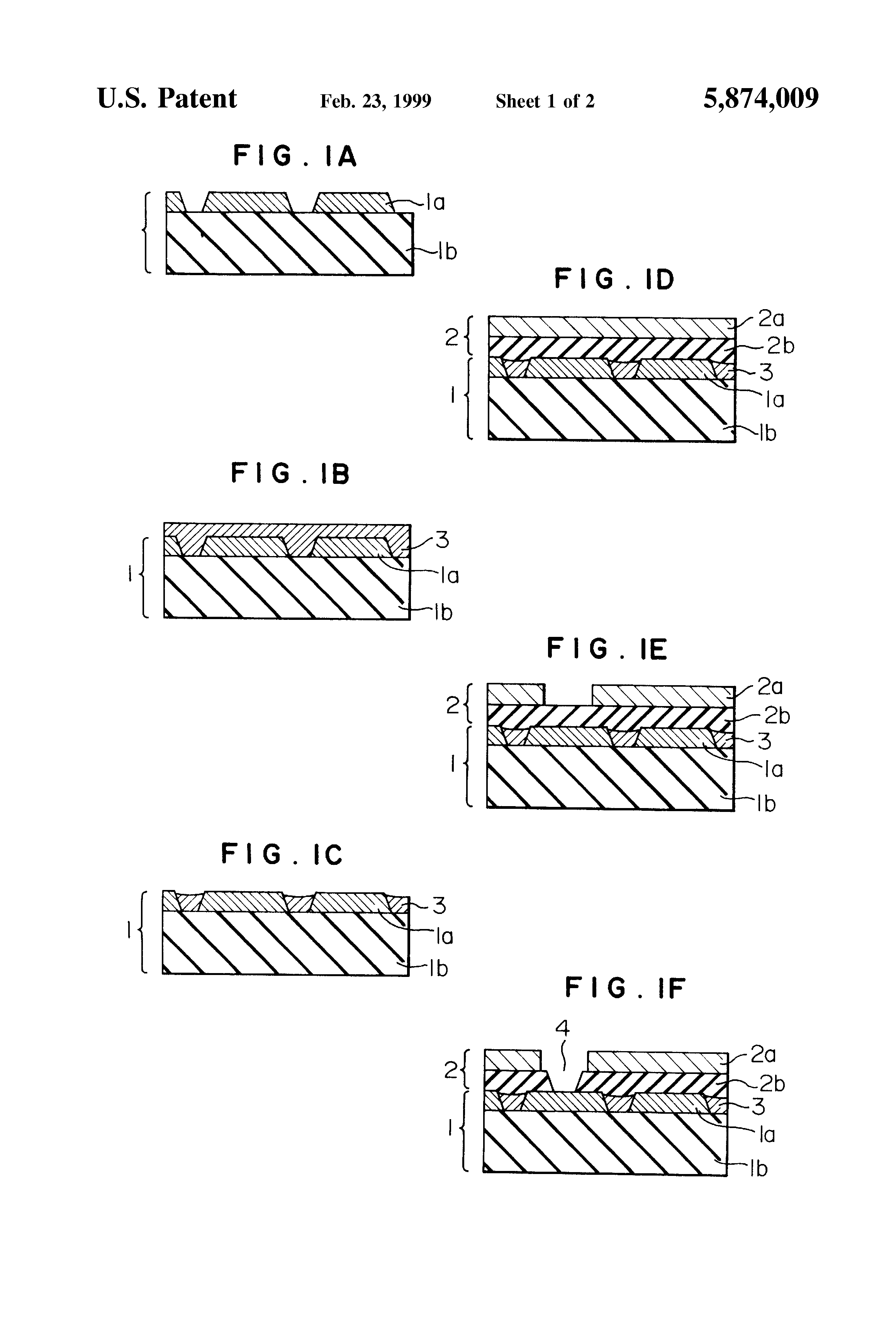 Patent Us5874009 Multilayer Printed Circuit Board With Epoxy Resin Wiring Drawing