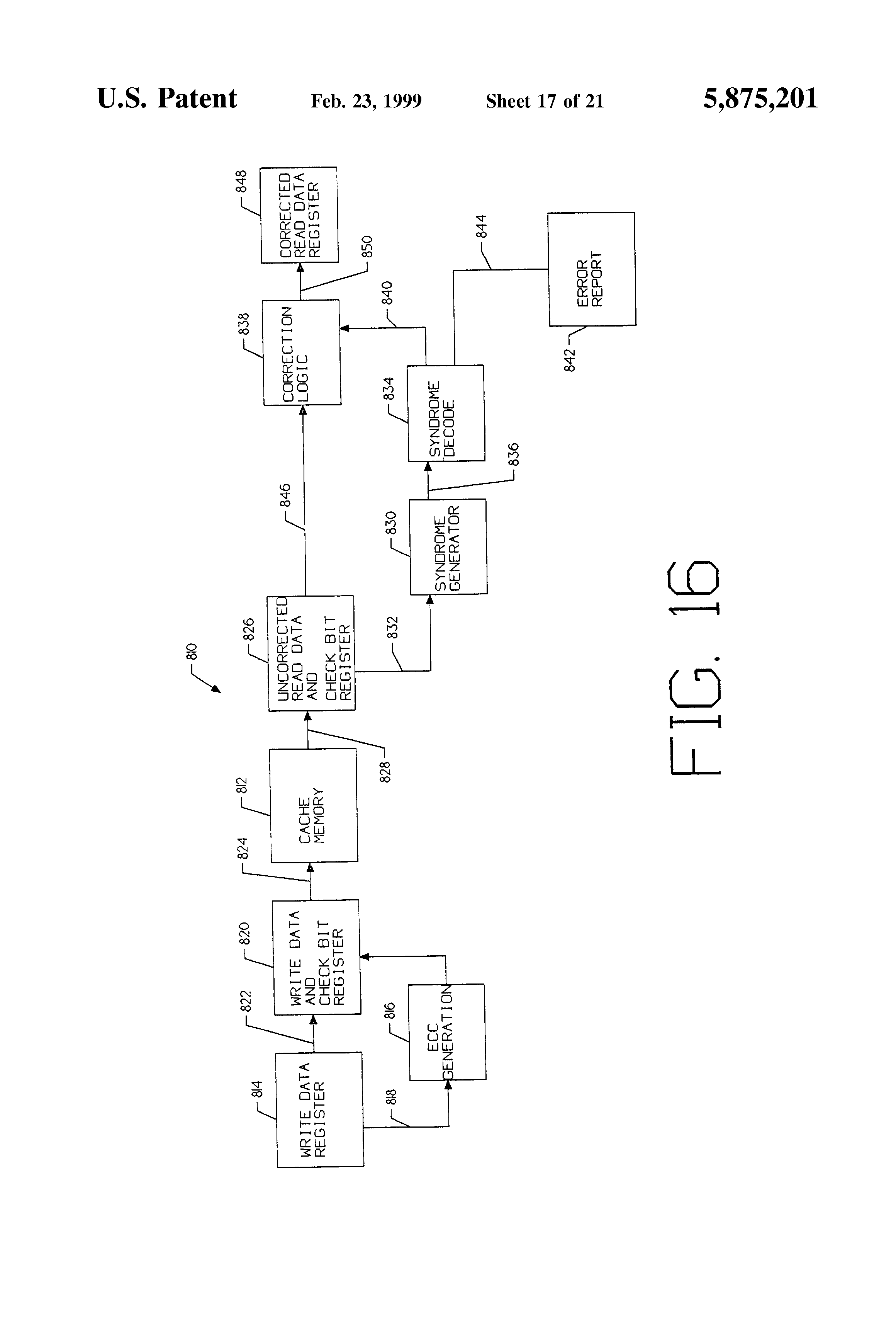 Patent Us5875201 Second Level Cache Having Instruction Block Diagram Hardwired Control Unit Drawing